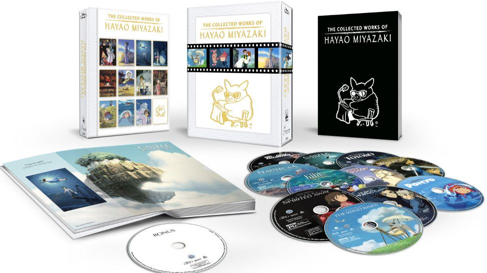 studio ghibli collection blu ray box set 2