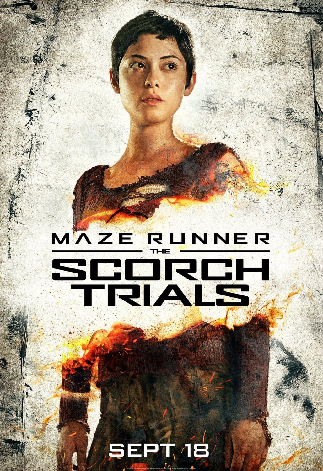 Maze Runner 2 Character Posters Feature Dylan O'Brien