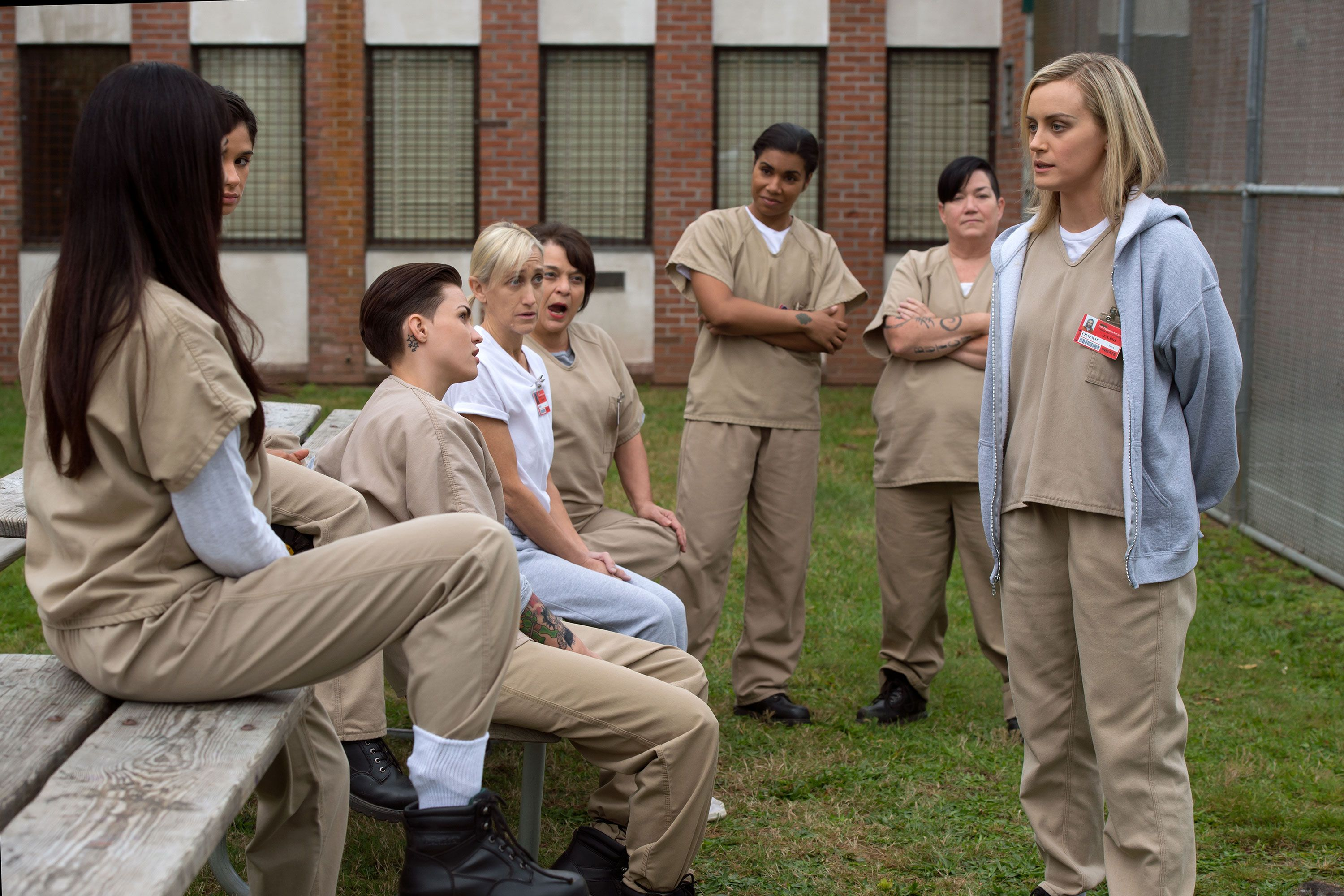 Orange Is The New Black Lip Tattoo Meaning: Orange Is The New Black Season 3 Episode 10, 11 Recap