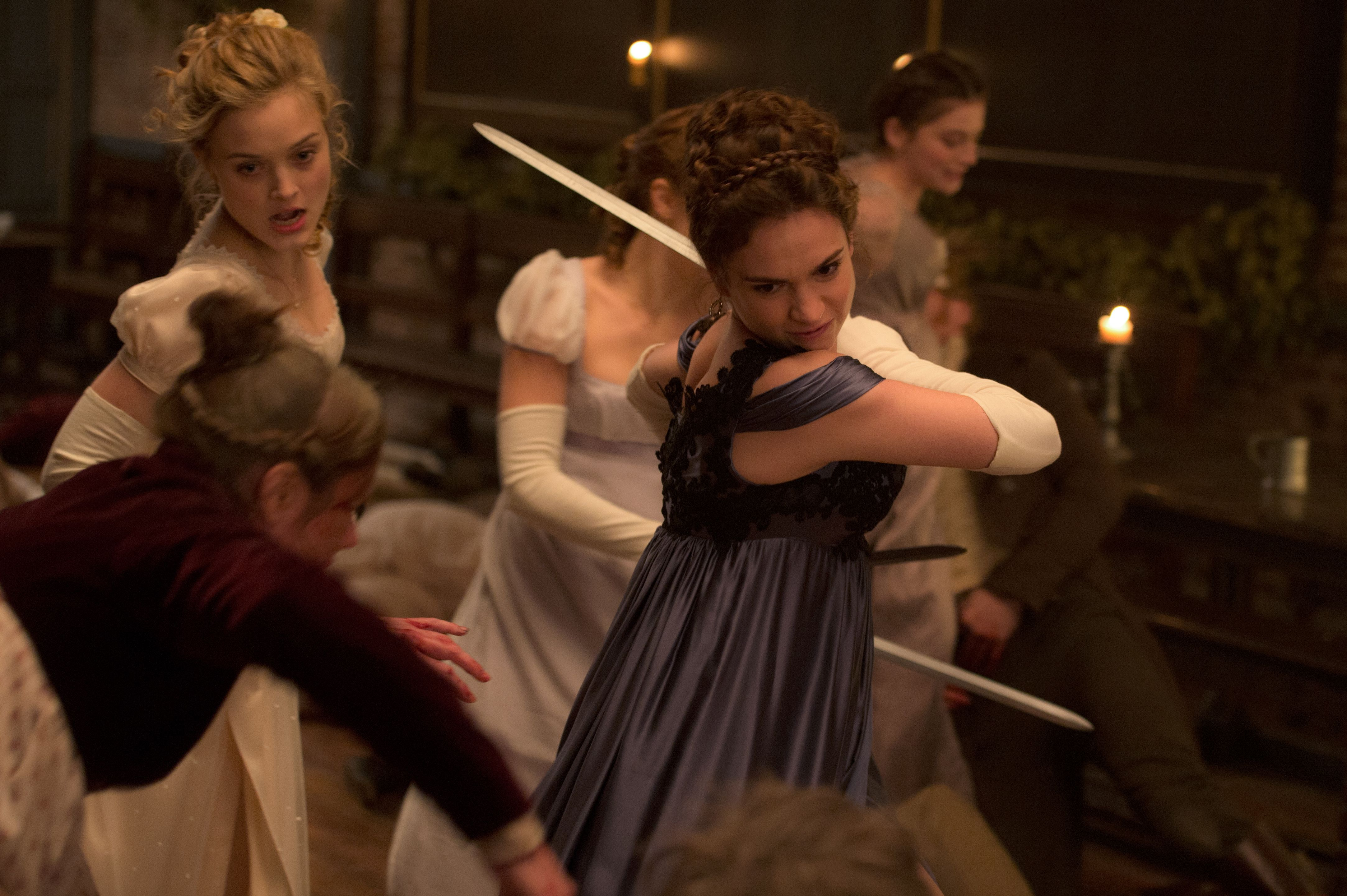 Pride And Prejudice And Zombies 2015