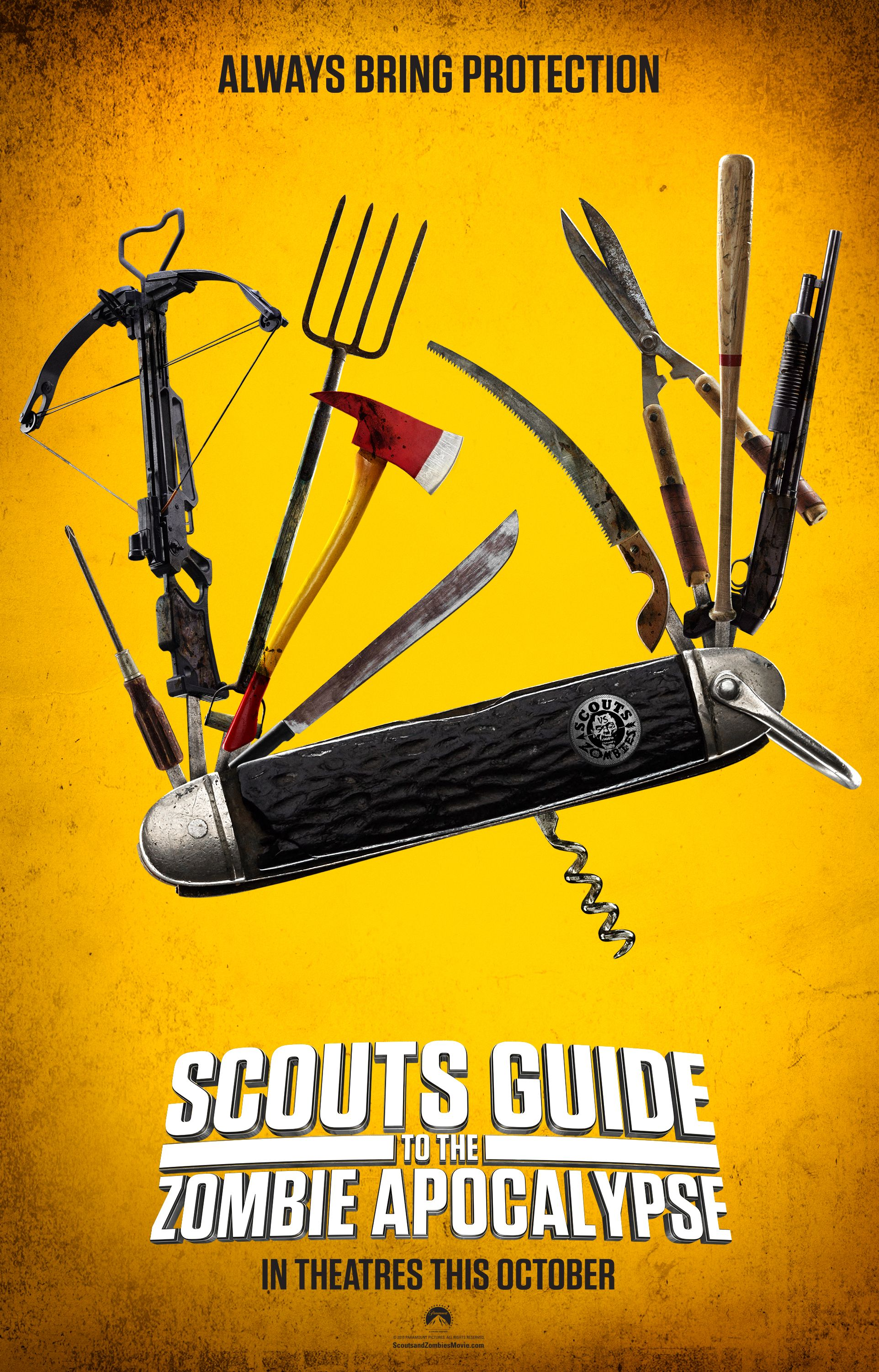 Scouts Guide To The Zombie Apocalypse Deutsch