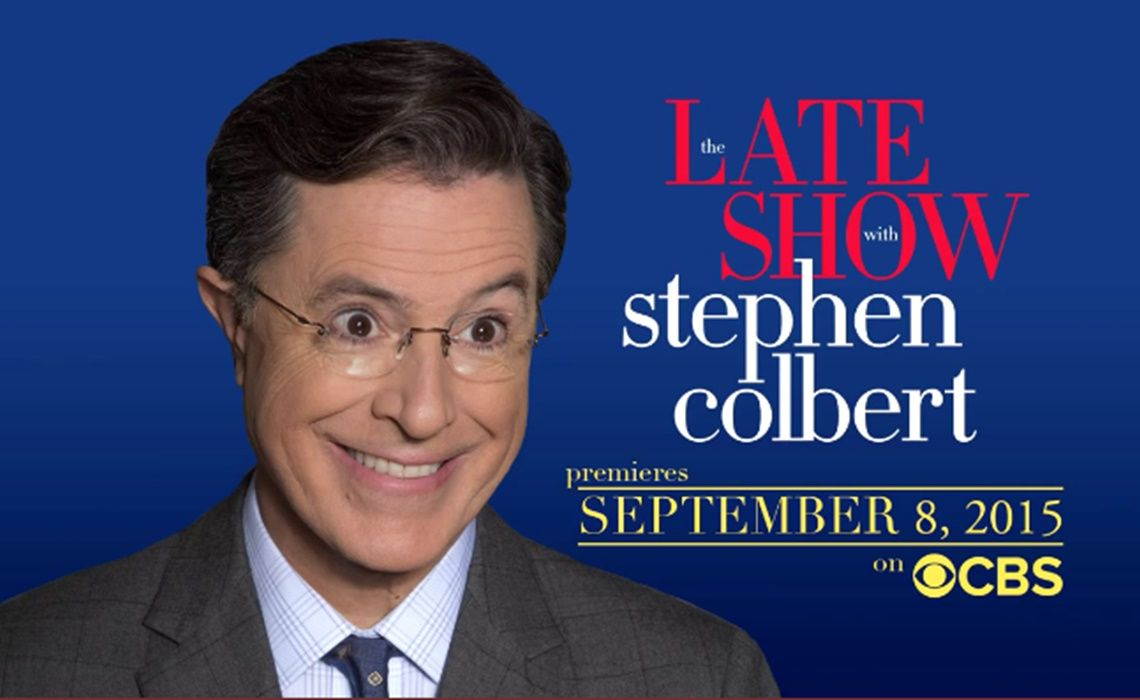 Late Show With Stephen Colbert Guests Include Amy Schumer Collider - Underwear on a us map colbert show