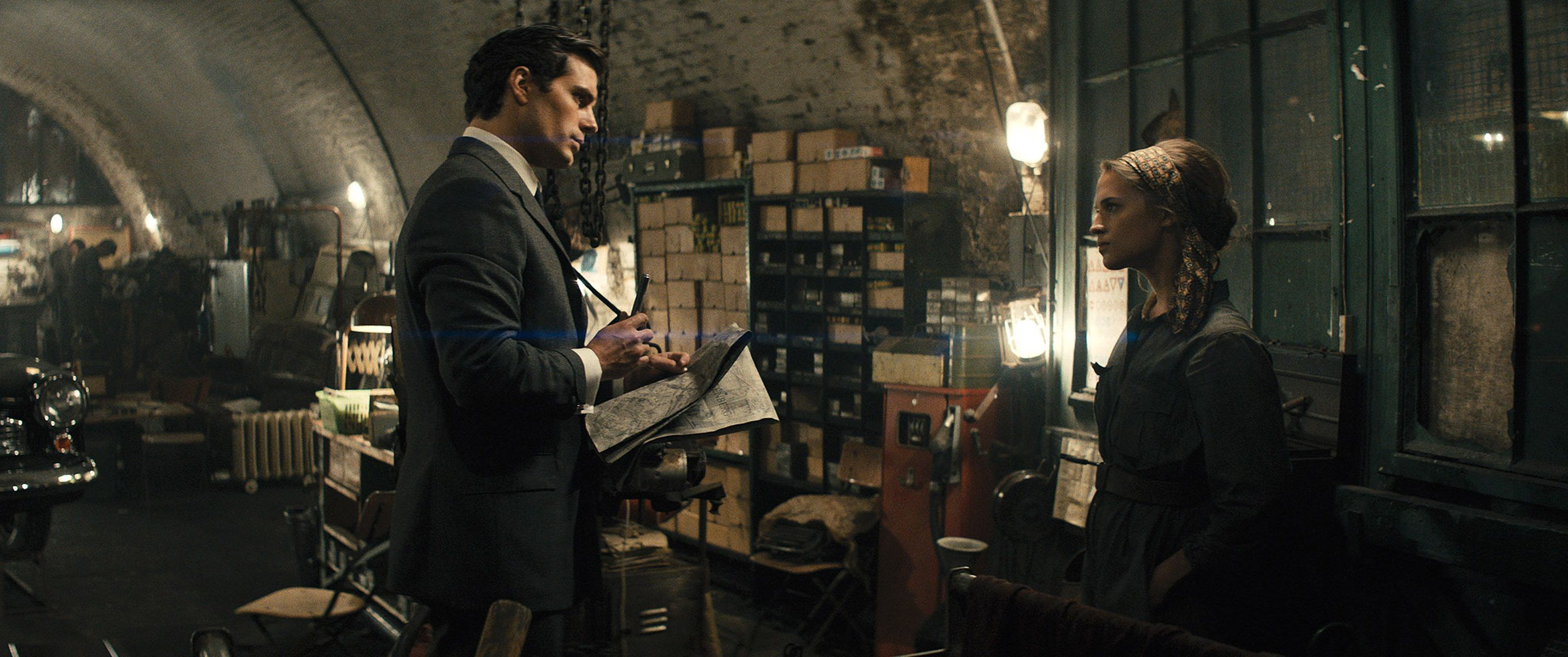 man from uncle movie images feature henry cavill more