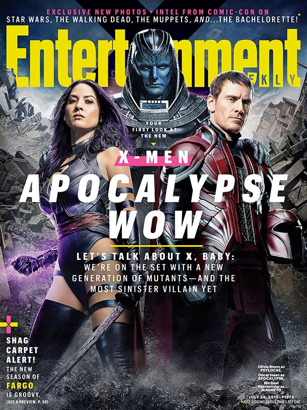 X-Men: Apocalypse Images of Magneto, Psylocke, and Storm ...