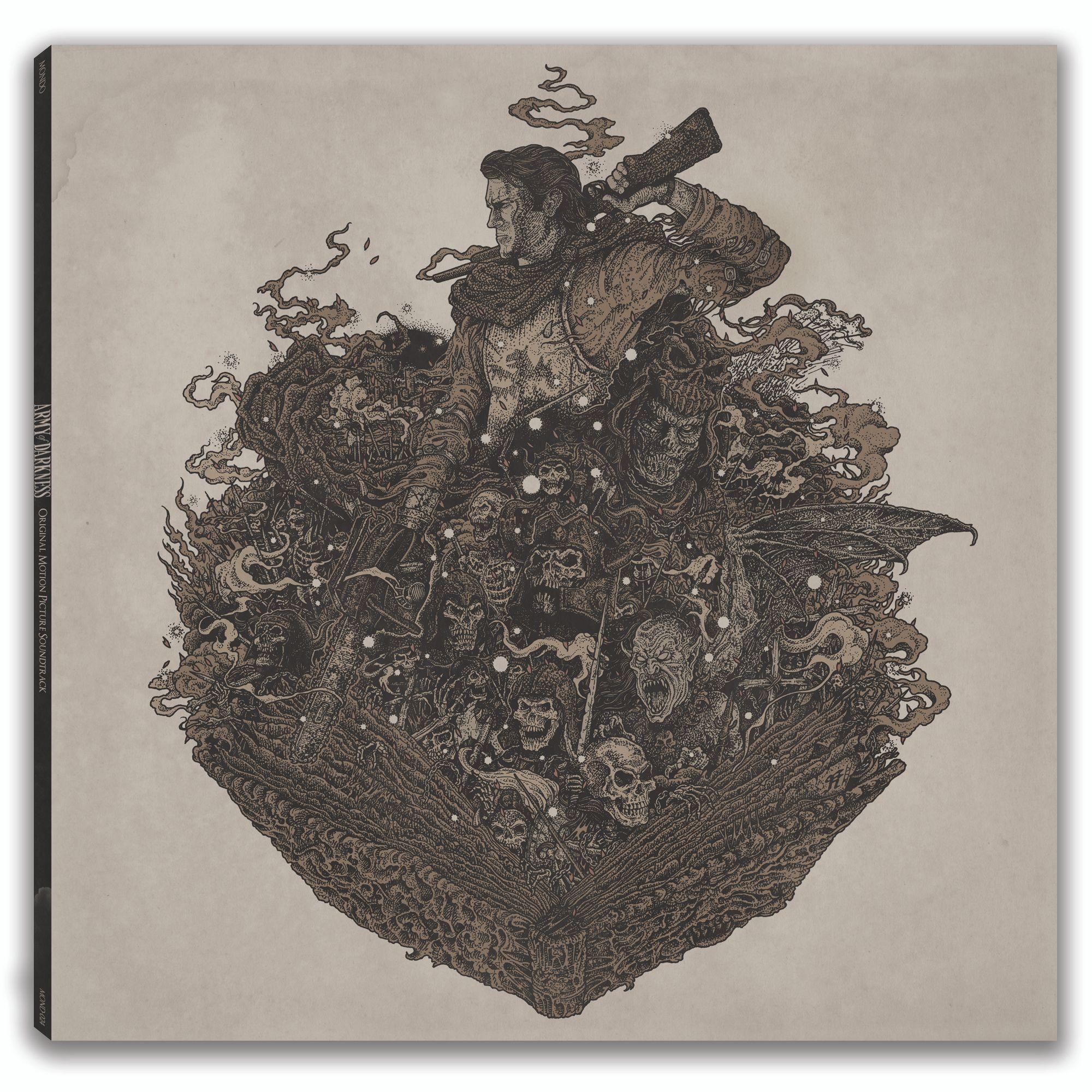 Richey Beckett Poster Army Of Darkness Mondo Vinyl