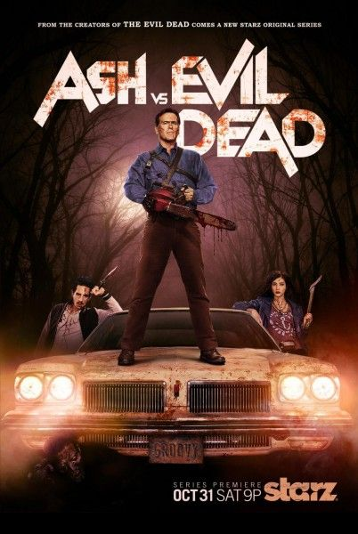 Bruce Campbell stars in Ash vs Evil Dead.