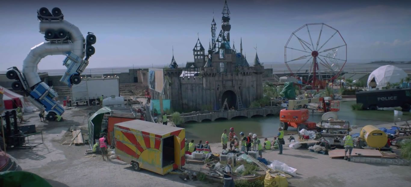 Dismaland Video Shows Banksy's Dark Spin on Disneyland ...
