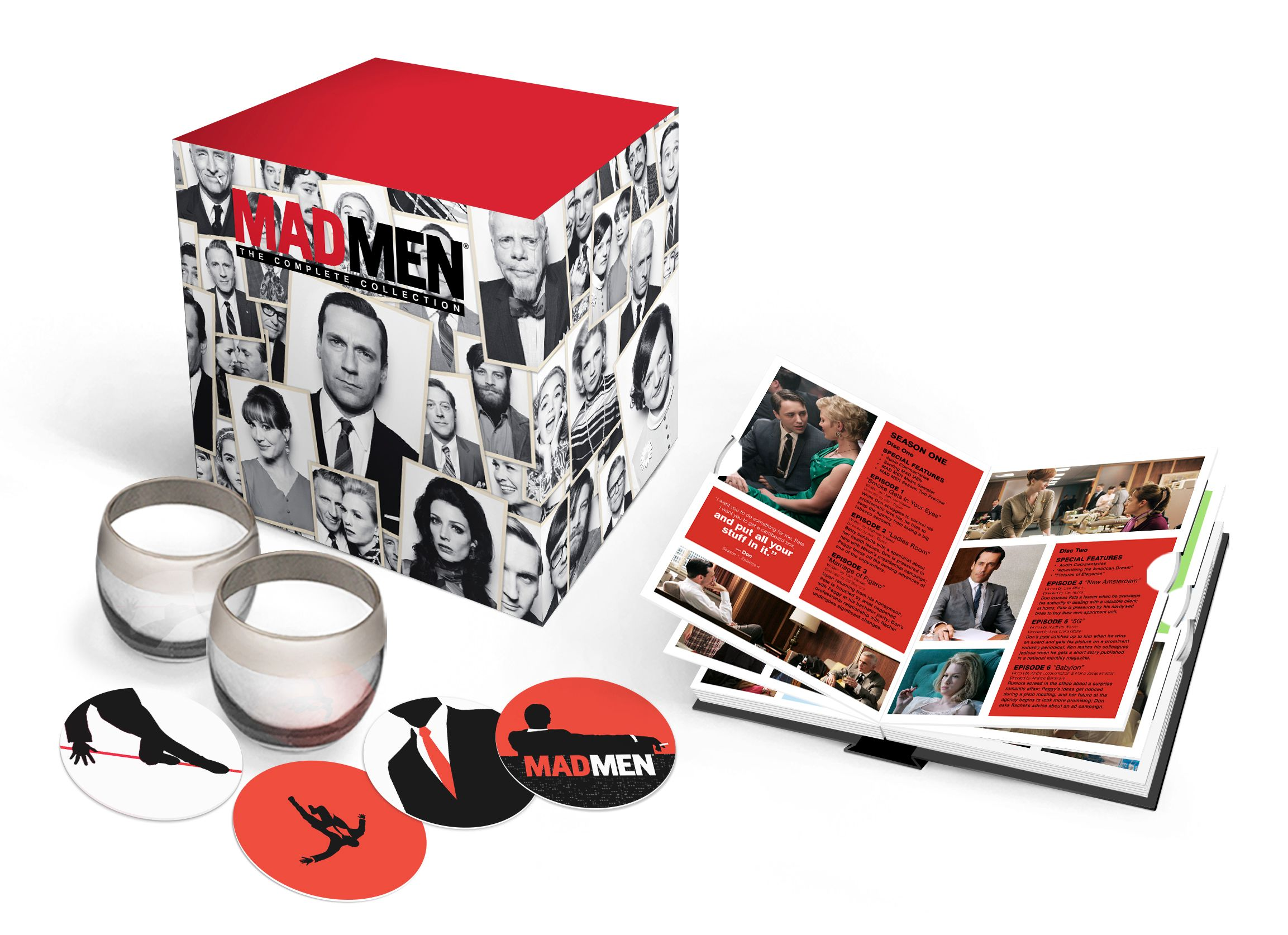 Mad Men: The Complete Collection Blu-ray Revealed | Collider