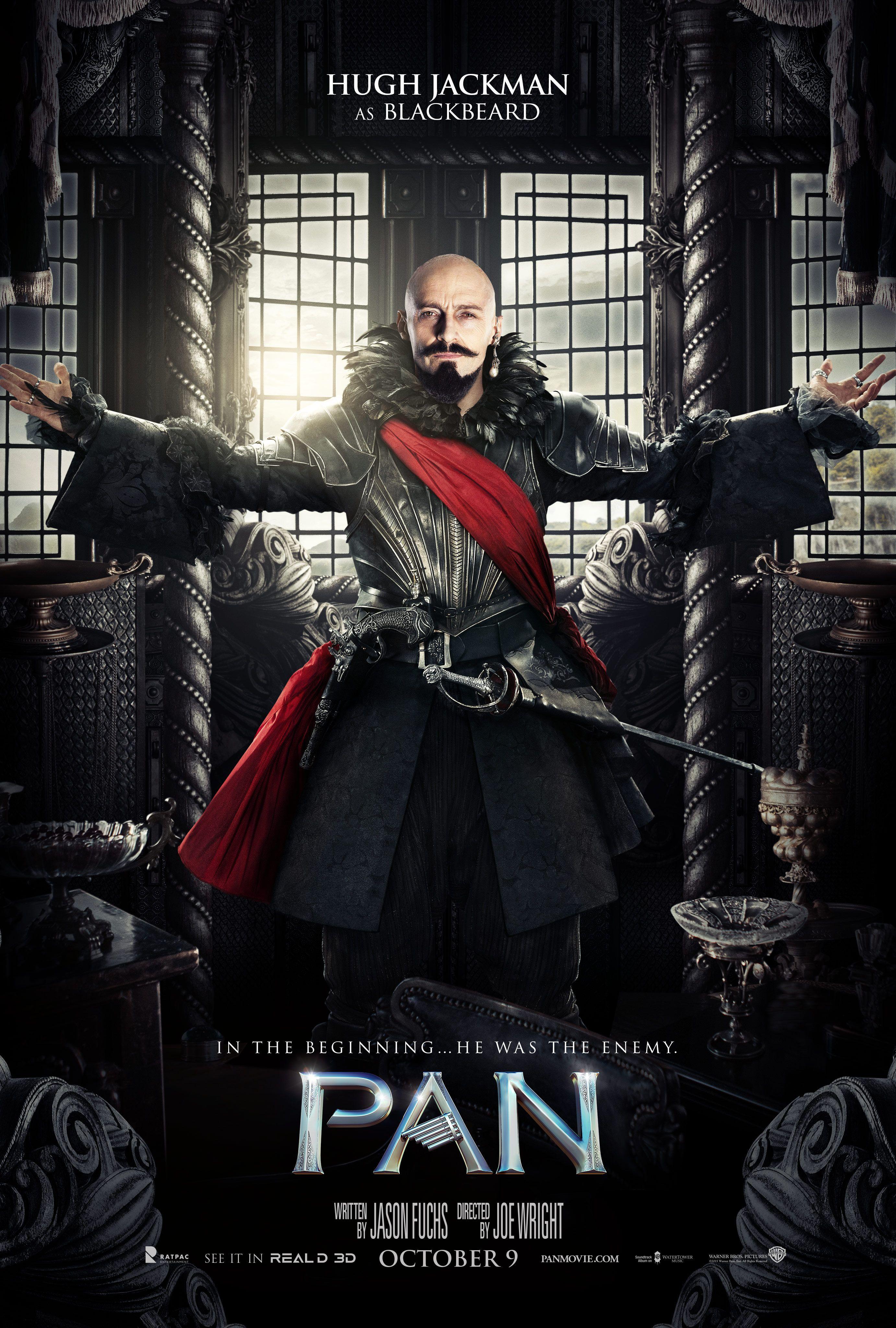 Pan Movie Poster Hugh Jackman