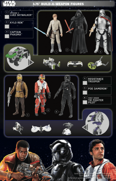 Star Wars Force Friday toy catalog.