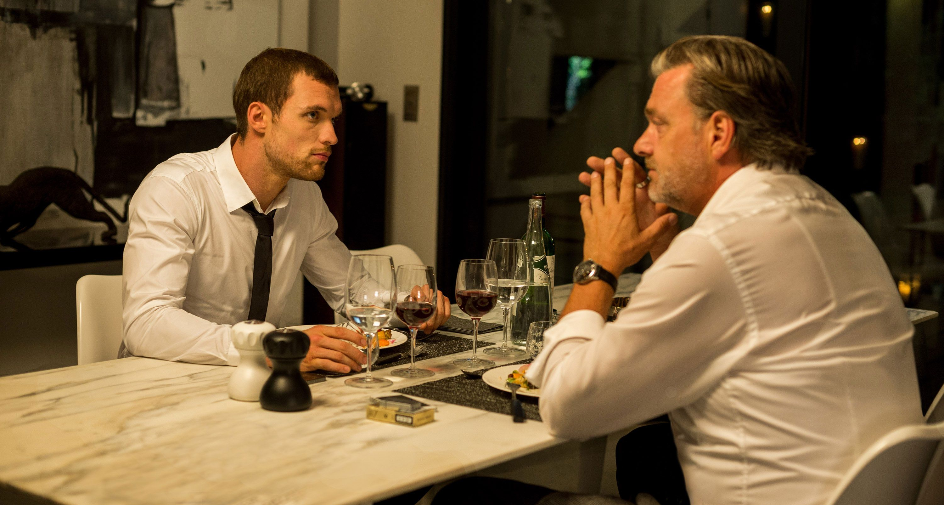 Transporter Refueled Clips and Images with Ed Skrein ...
