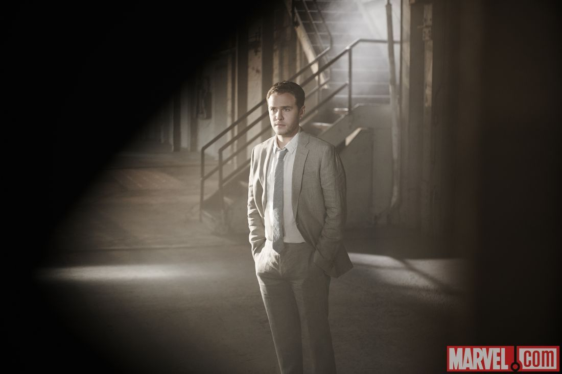 21 New 'Agent... Iain De Caestecker Shield