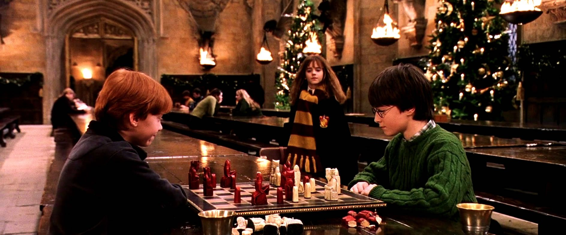 Harry Potter Christmas.Harry Potter Christmas Dinner At Studio Tour Hogwarts Collider