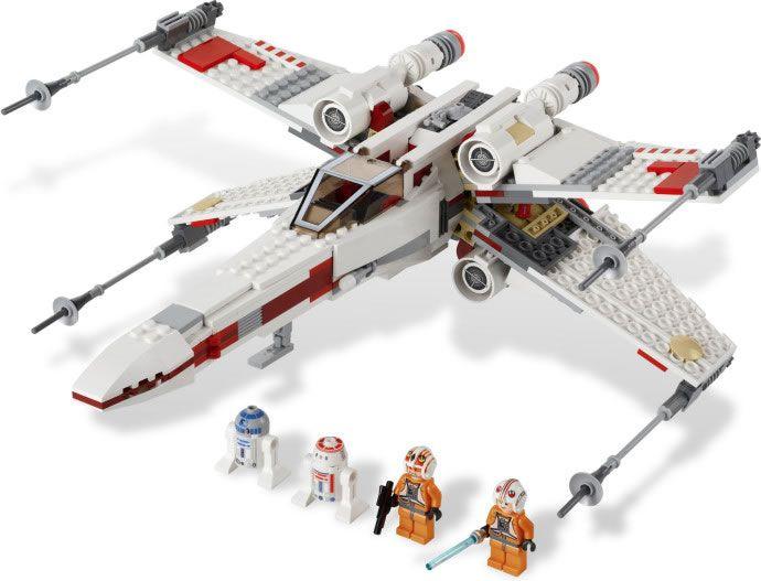 10 LEGO Star Wars X-Wing Piloten LEGO Minifiguren Baukästen & Konstruktion