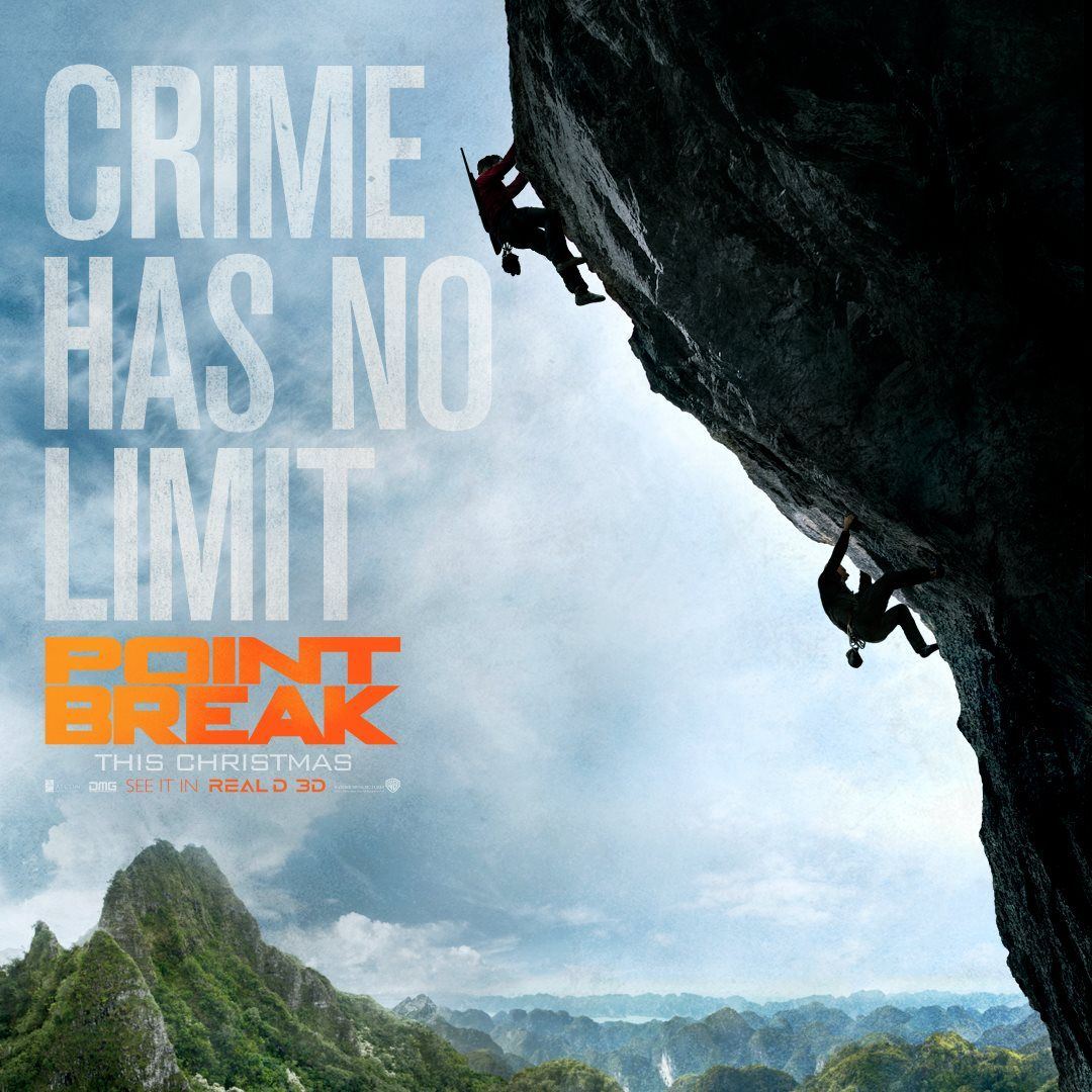Point Break Remake Trailer and Posters Dive into the ...