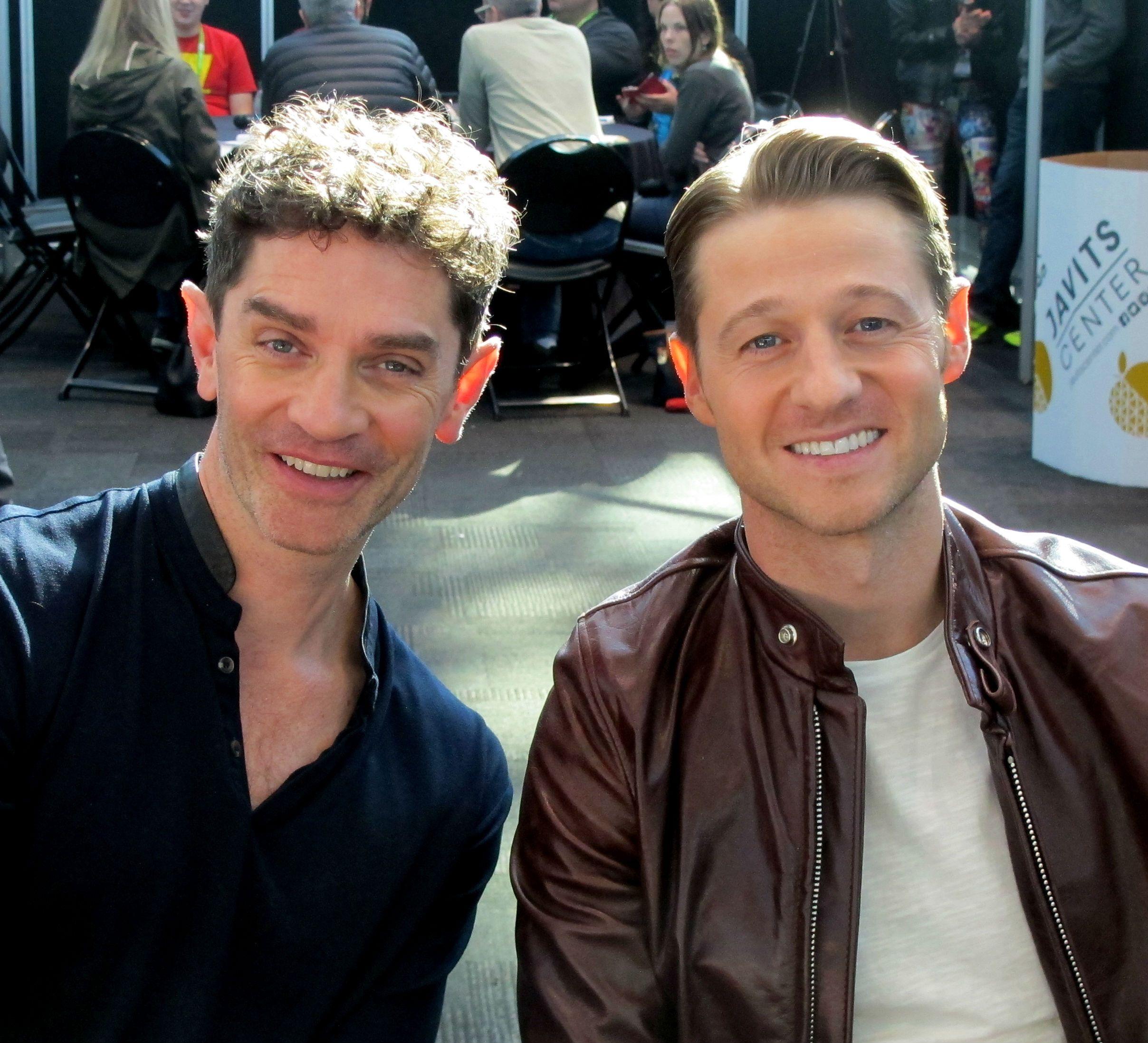 Gotham Season 2 Ben Mckenzie And James Frain Interview Collider