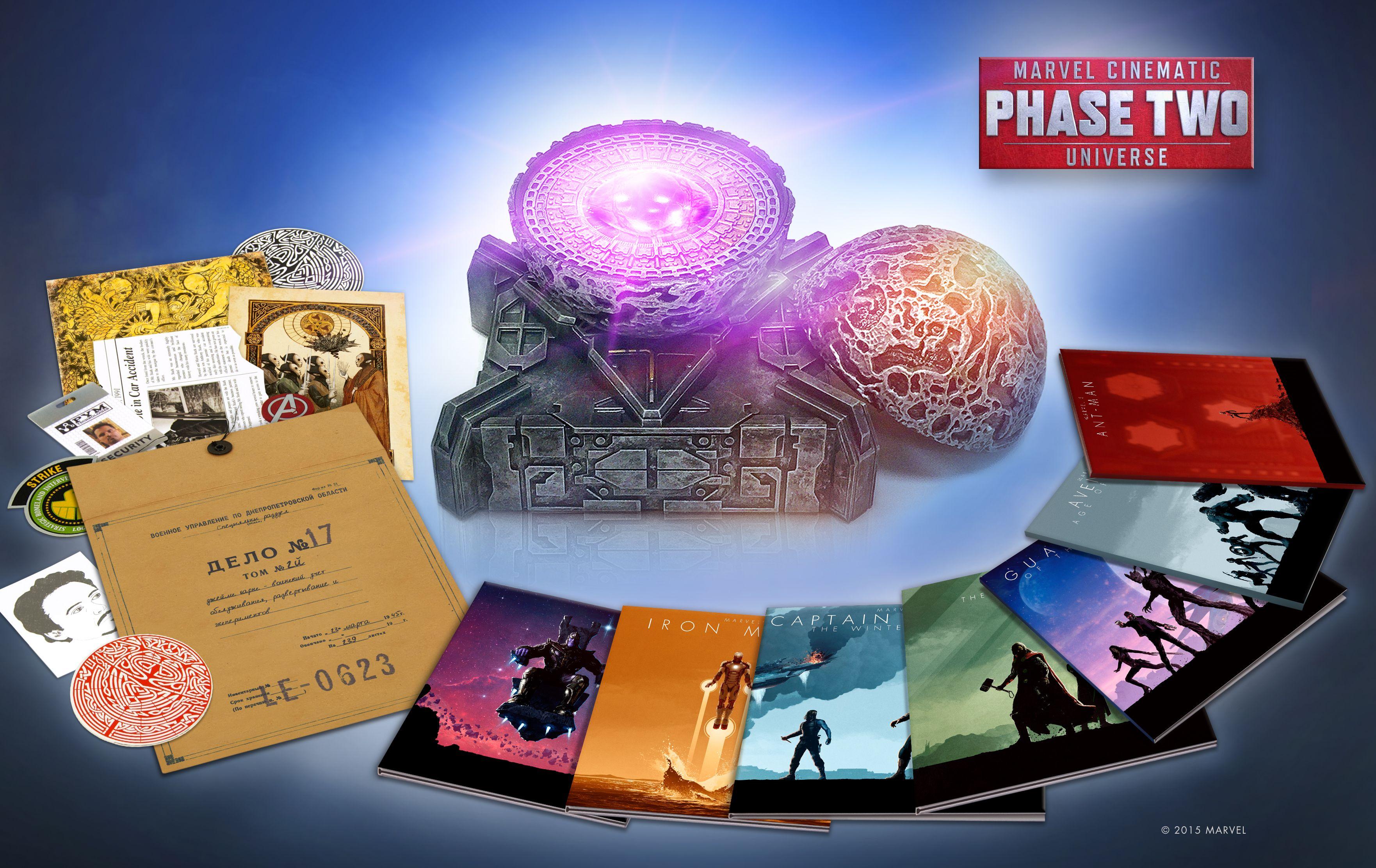 MCU Phase 2 Box Set Image