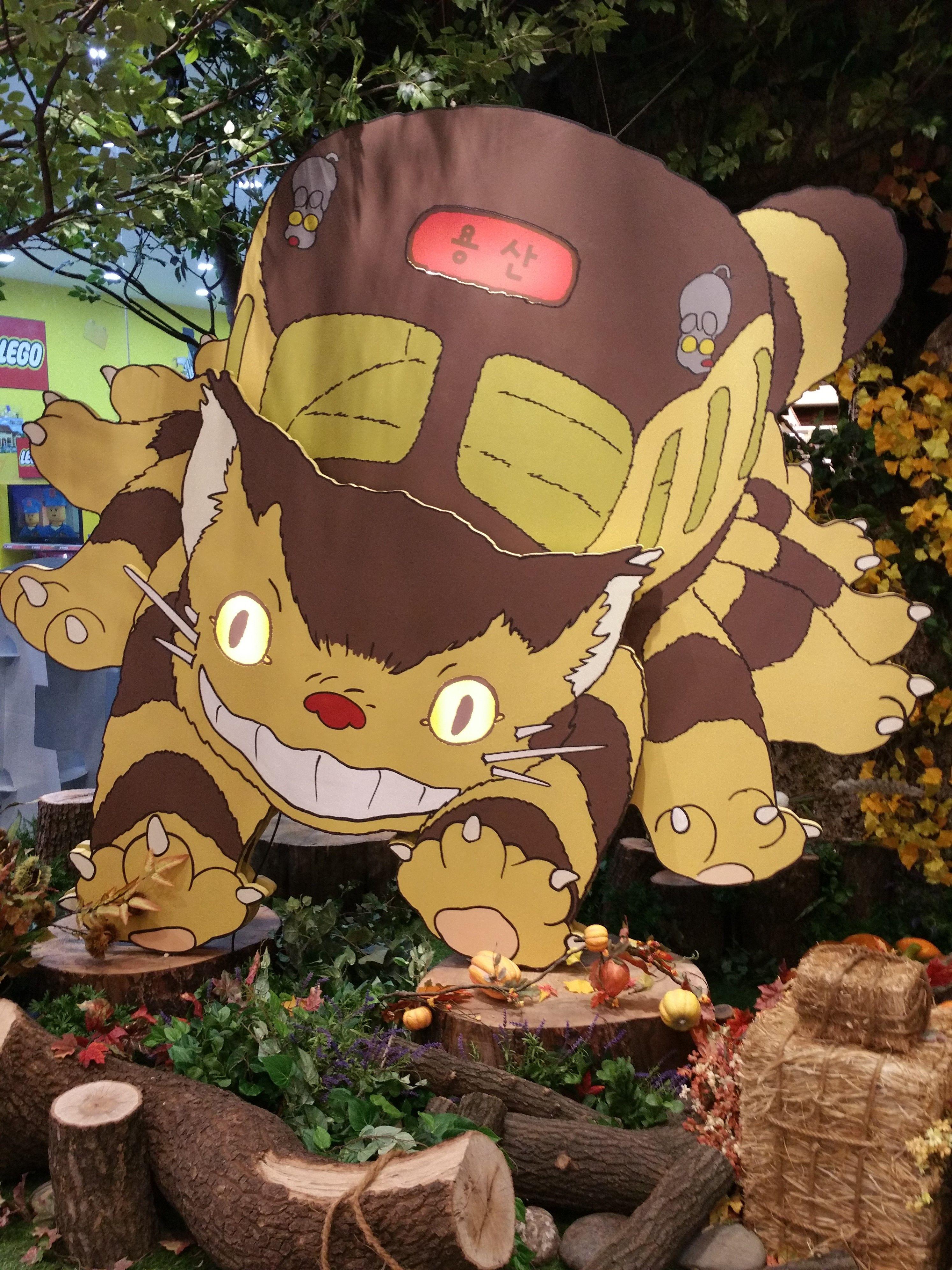 Studio Ghibli Store Images In Seoul  South Korea