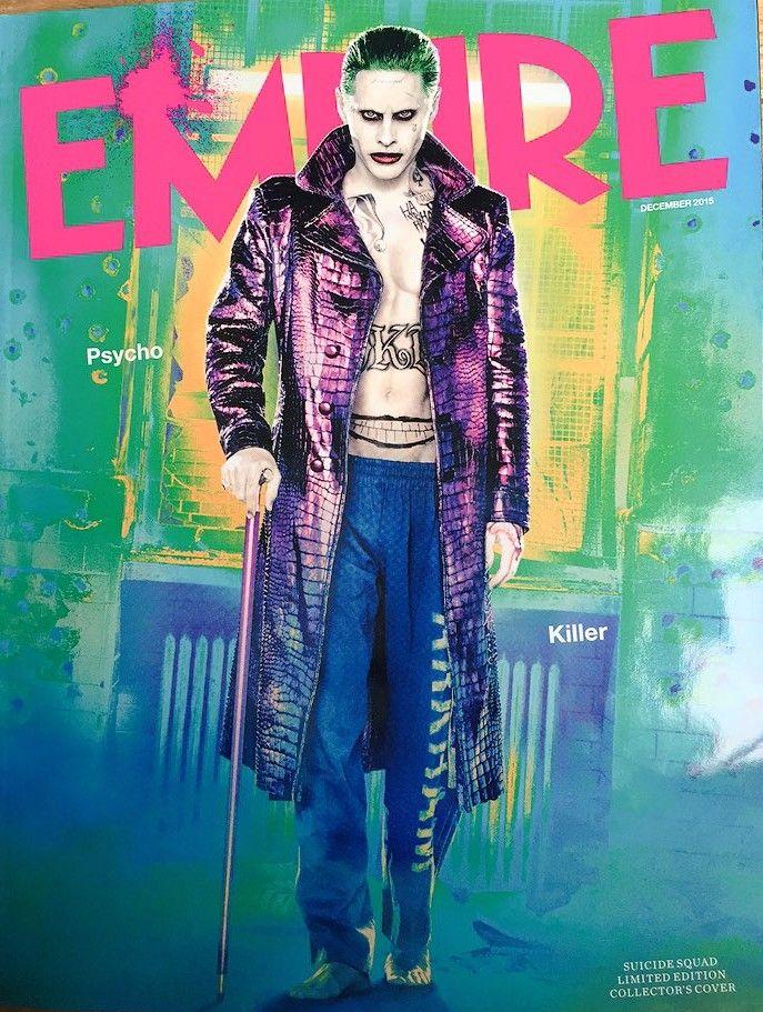 Suicide Squad S Joker Revealed In Full Costume Collider