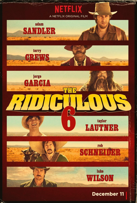 Ridiculous 6 Trailer Deutsch