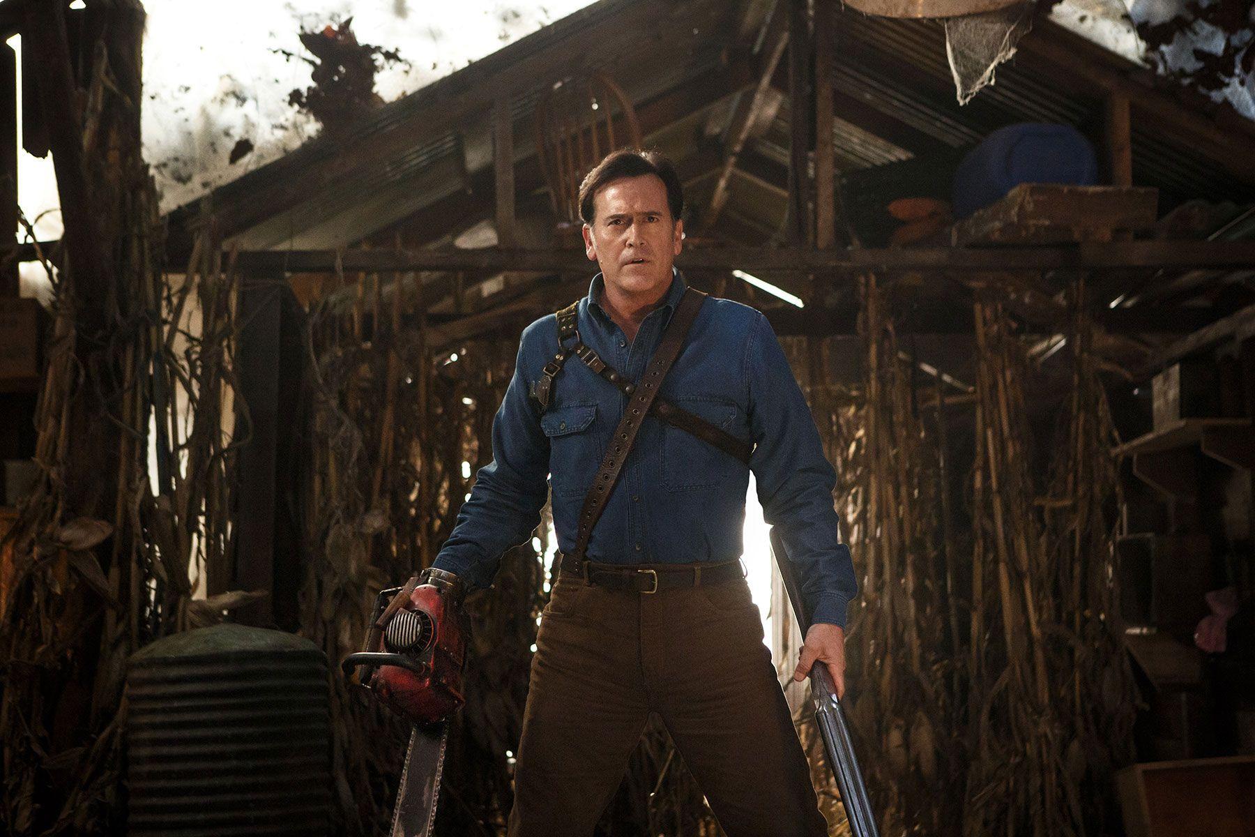 Ash Vs Evil Dead Craig Digregorio On Season 2 Sam Raimi Collider