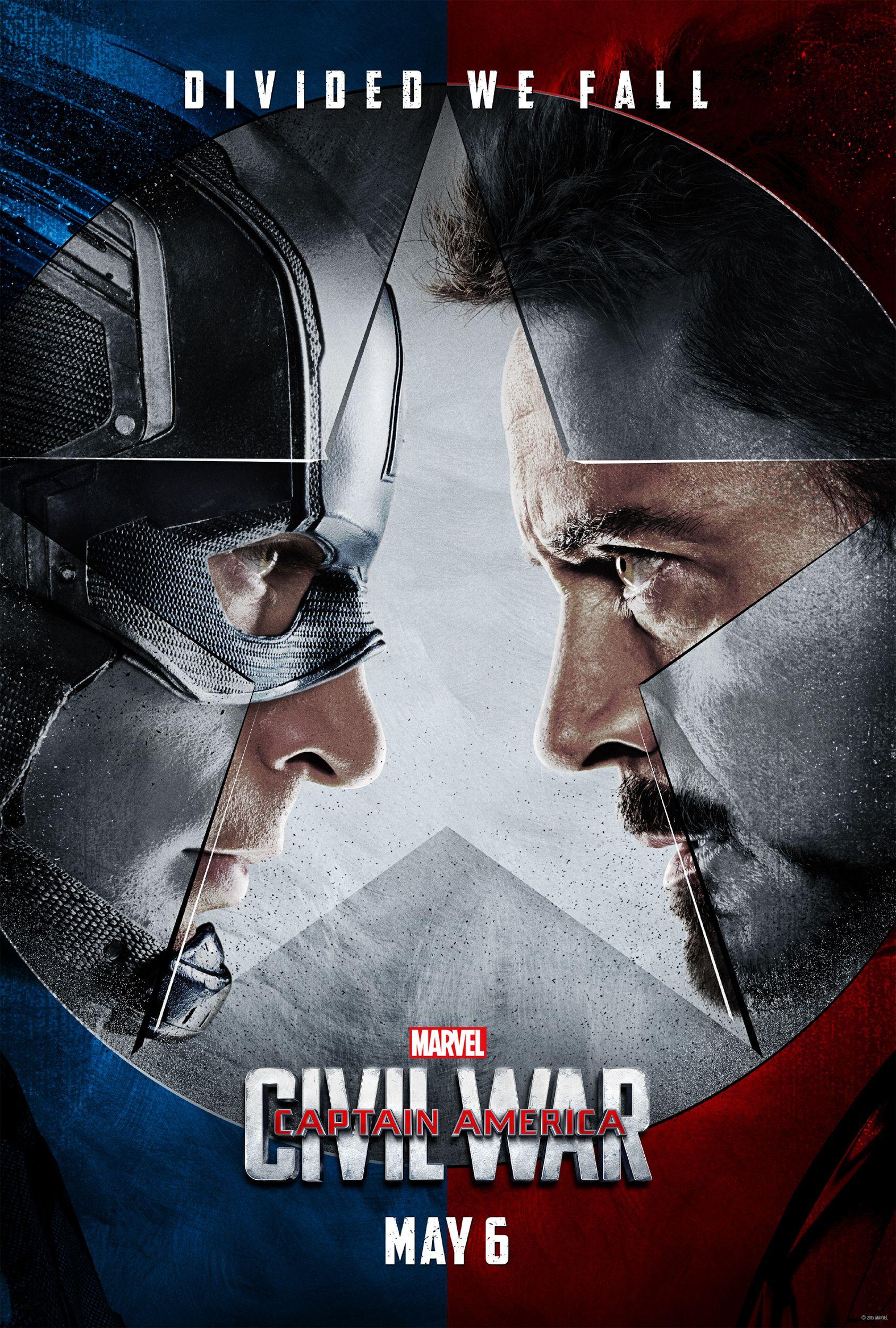 captain america civil war posters make the fight personal collider. Black Bedroom Furniture Sets. Home Design Ideas