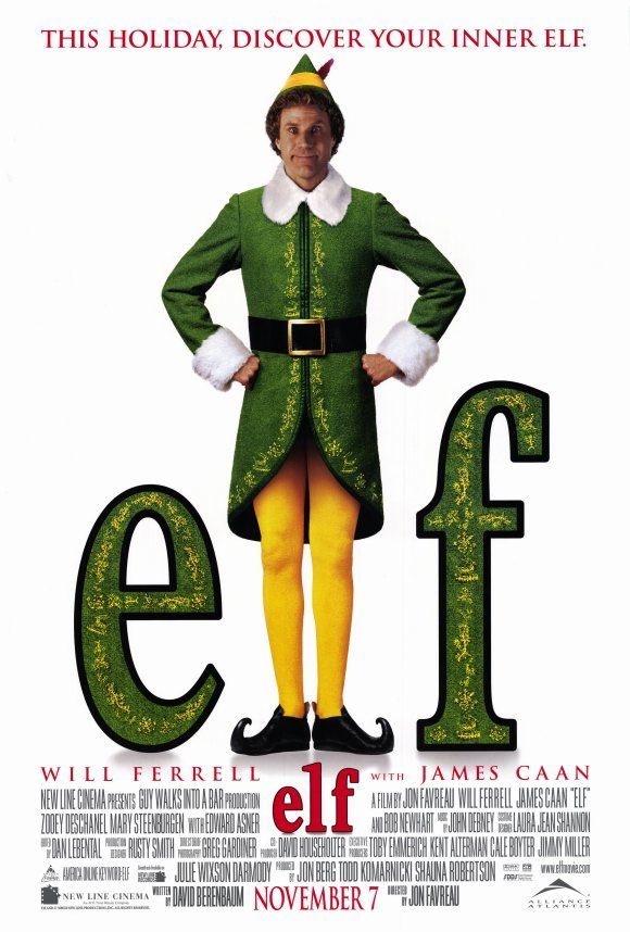 elf poster days of christmas