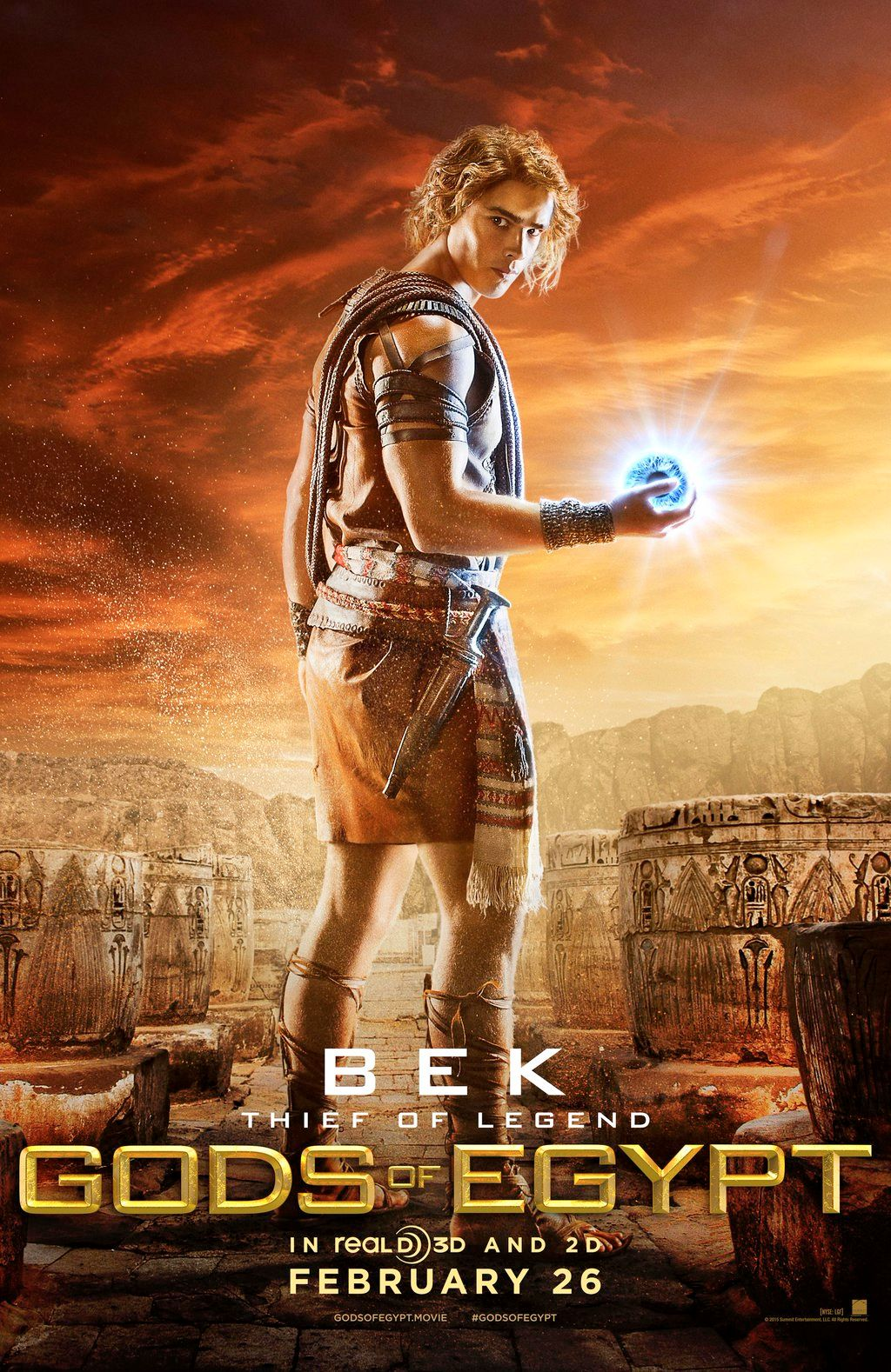 Gods of Egypt Posters Feature Gerard Butler and Elodie Yung | Collider
