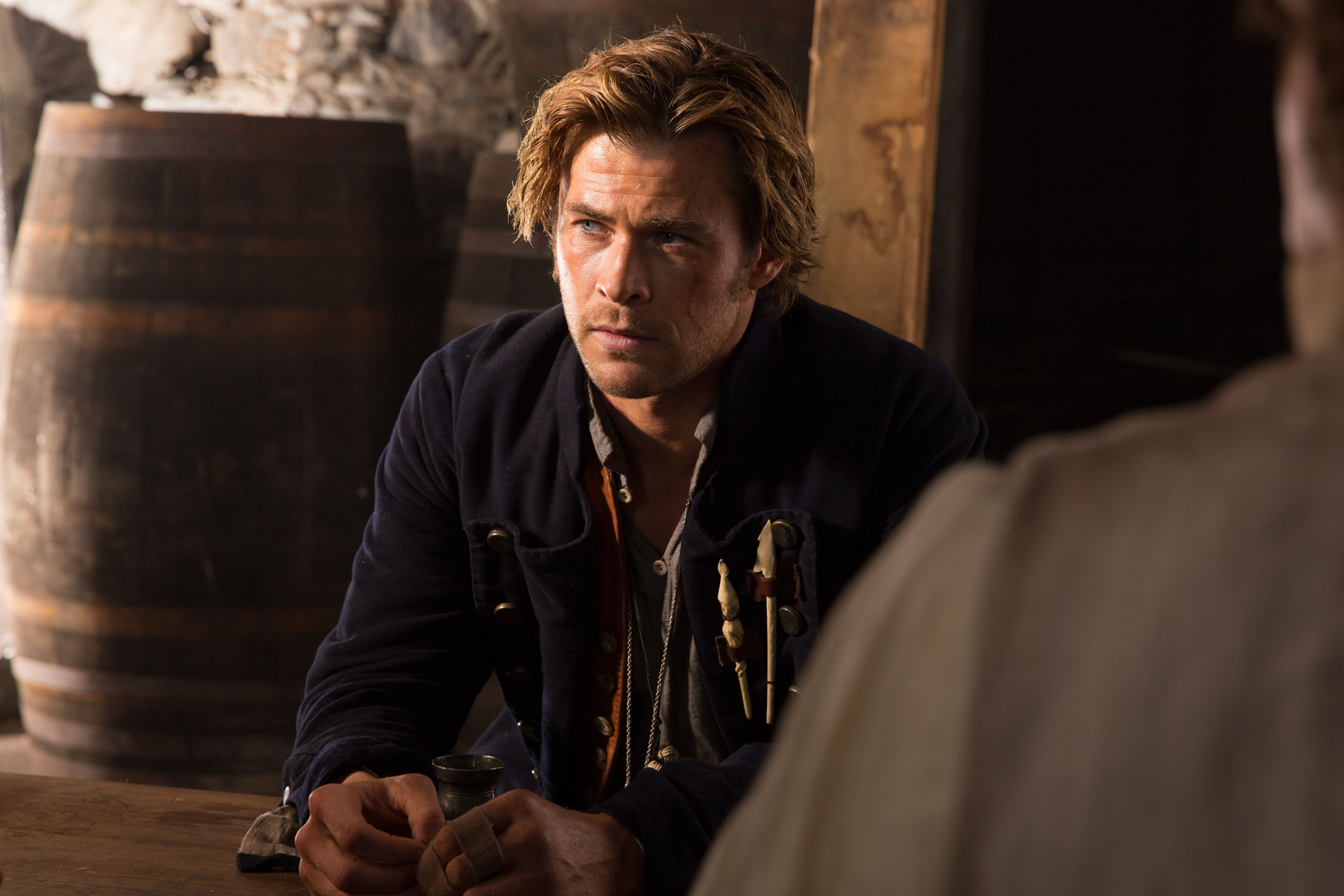 Chris Hemsworth on In the Heart of the Sea, Losing Weight ...