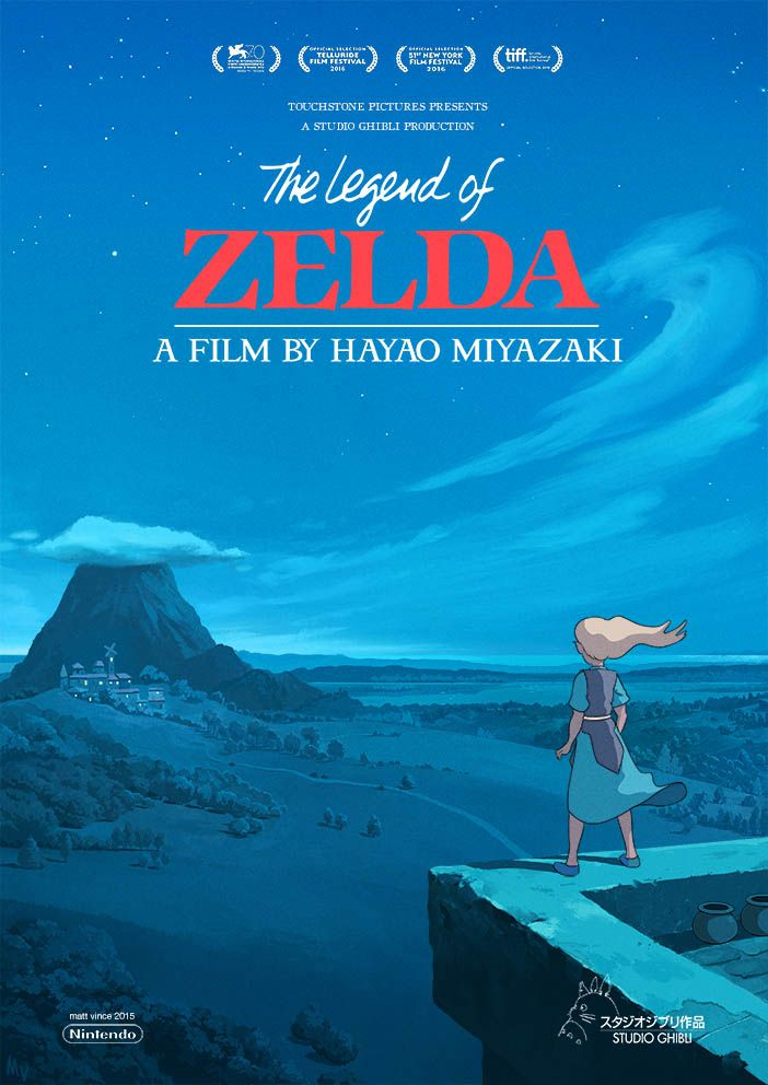 the legend of zelda what if studio ghibli made it a movie