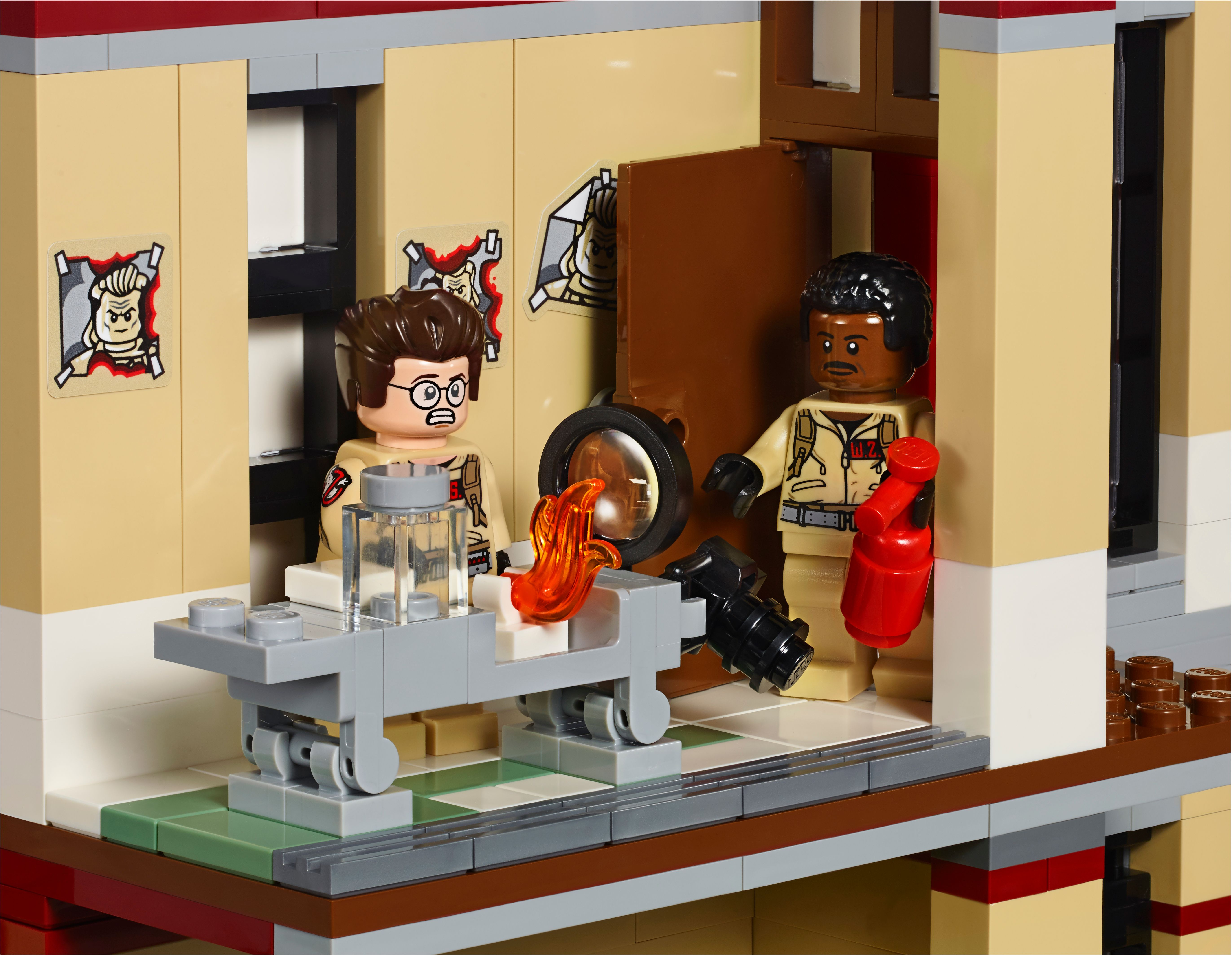 lego ghostbusters firehouse instructions