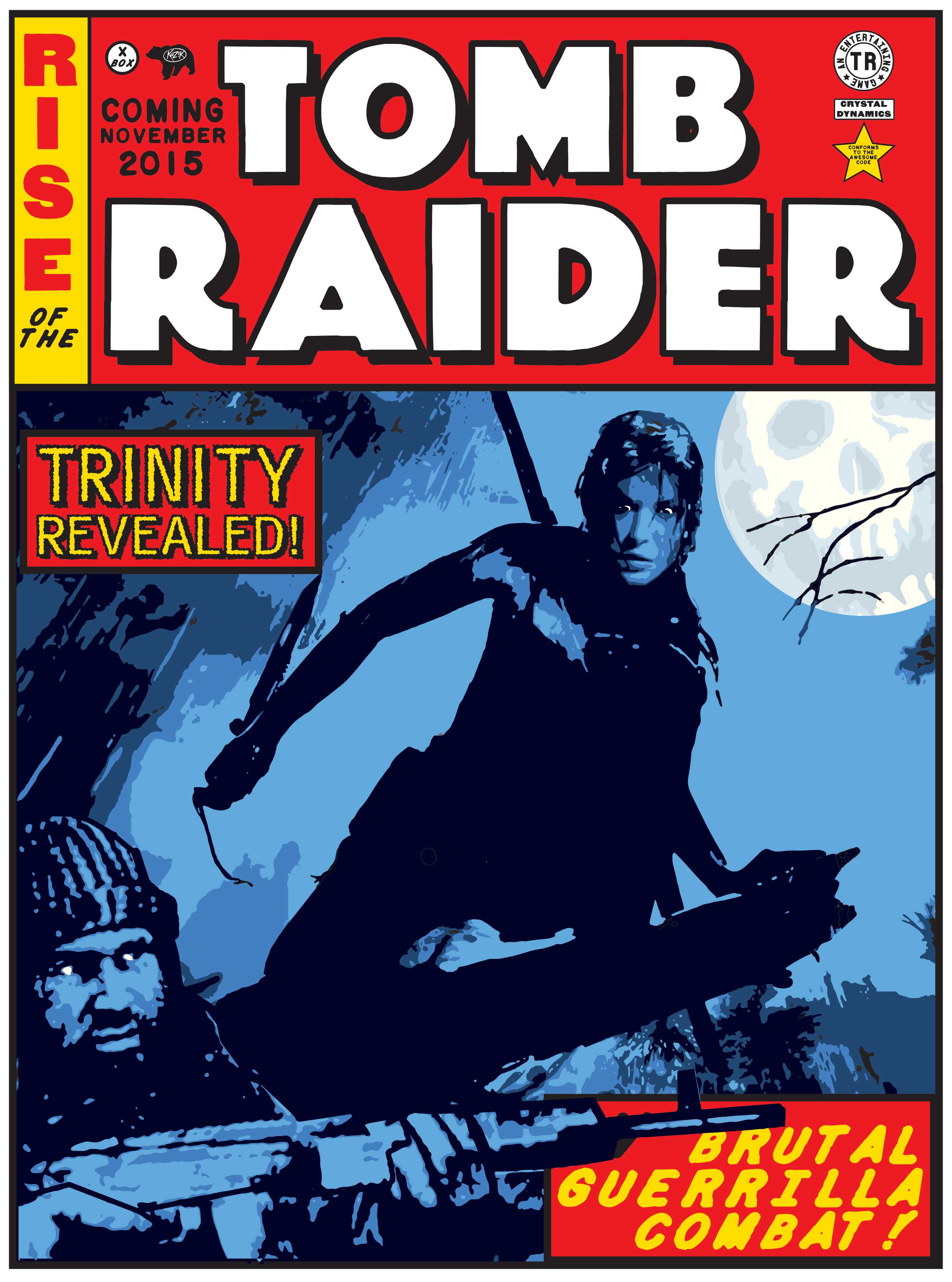Rise Of The Tomb Raider Giveaway Artwork And Digital Game