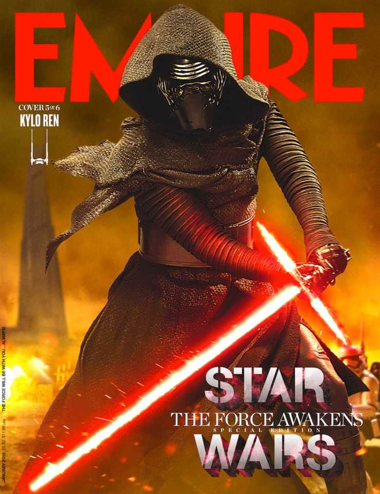 star wars 7 new empire covers feature harrison ford collider. Black Bedroom Furniture Sets. Home Design Ideas