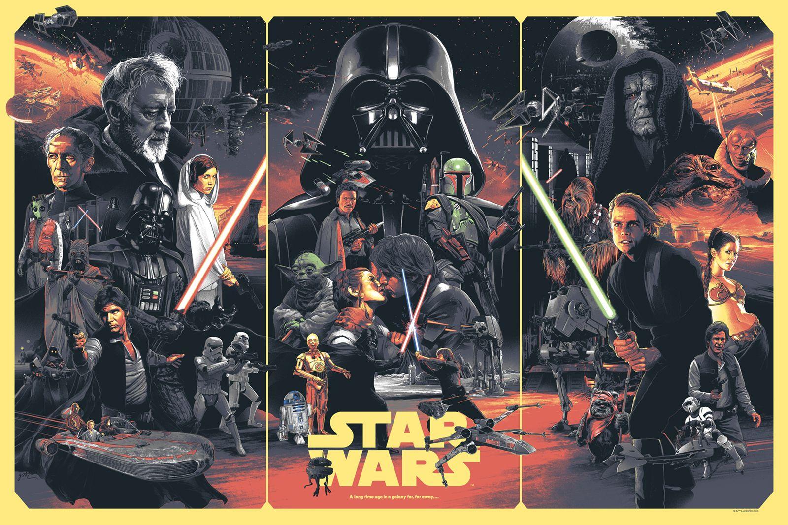 Star Wars Poster By Gabz For Bottleneck Gallery
