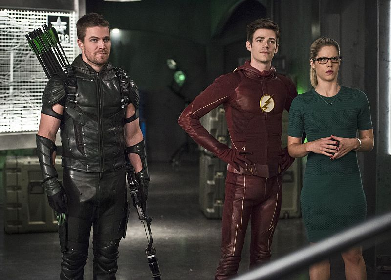 Arrow and The Flash Producers, Cast on Crossover Episodes