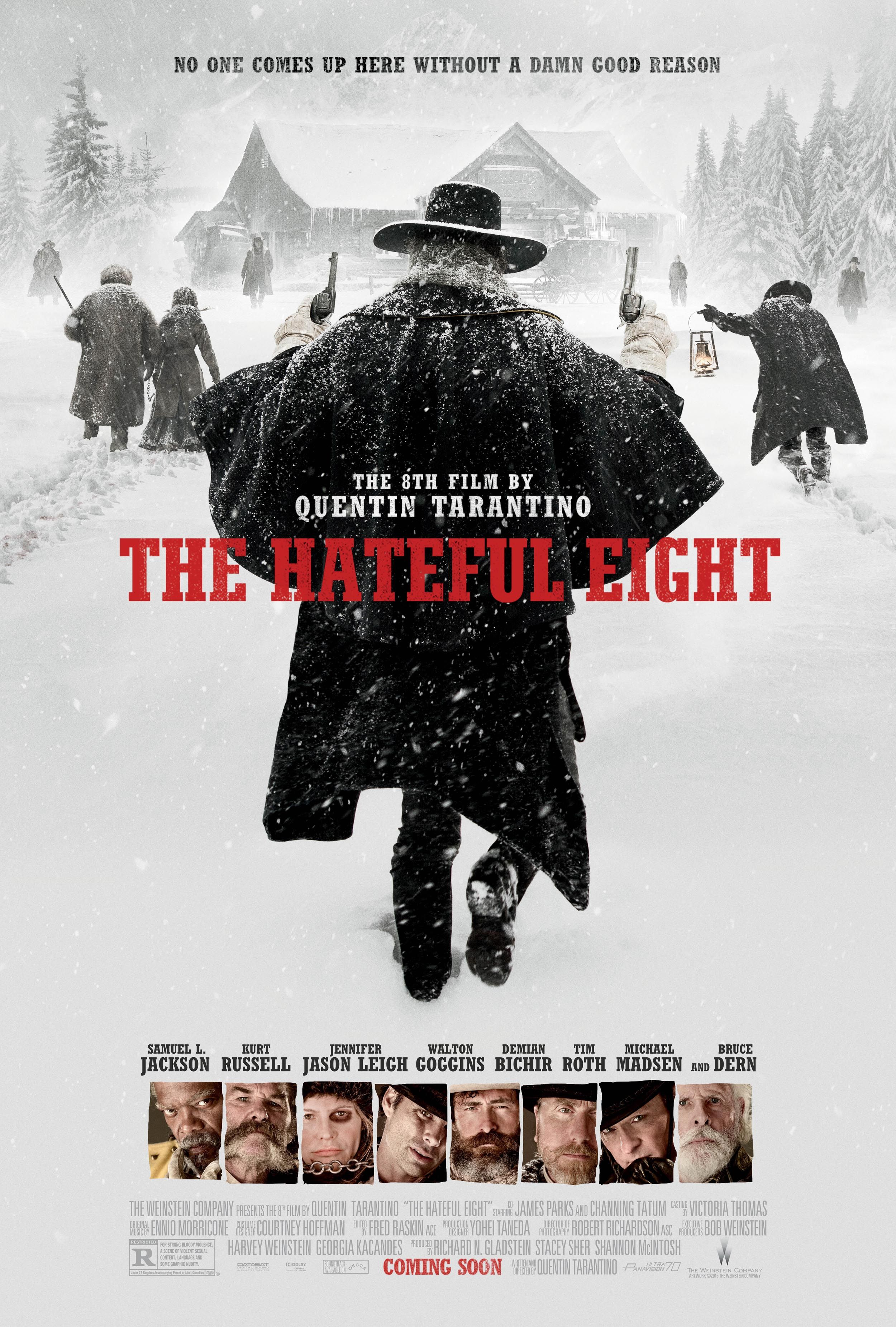 The Hateful Eight, de Quentin Tarantino The-hateful-eight-poster