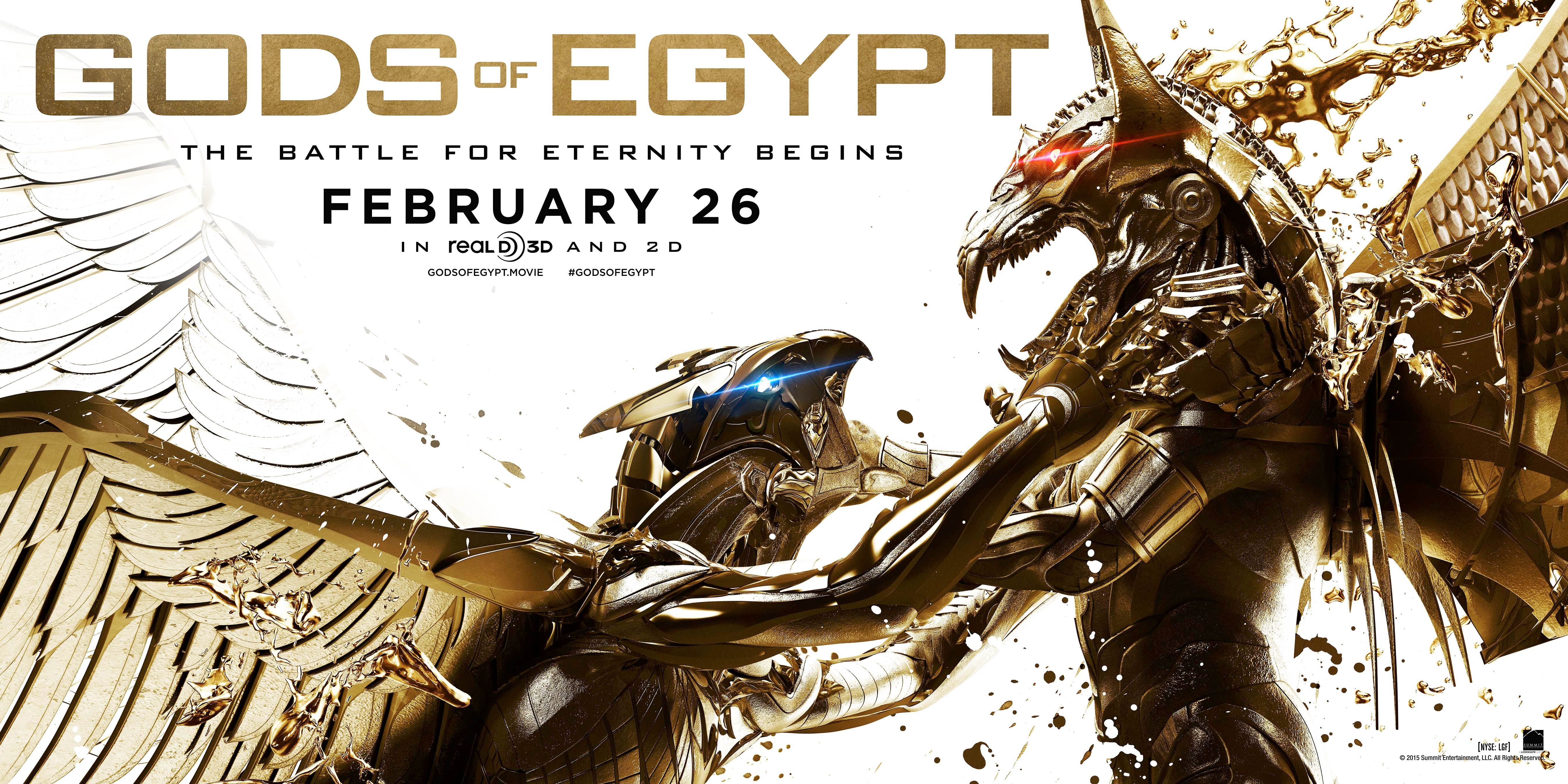 New Gods of Egypt Trailer Attempts a Do-Over | Collider