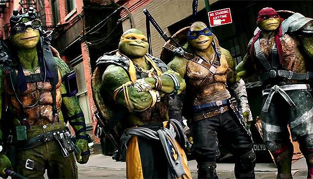 Teenage Mutant Ninja Turtles: Out of the Shadows (2016) Hindi Dubbed Watch Online Full Movie