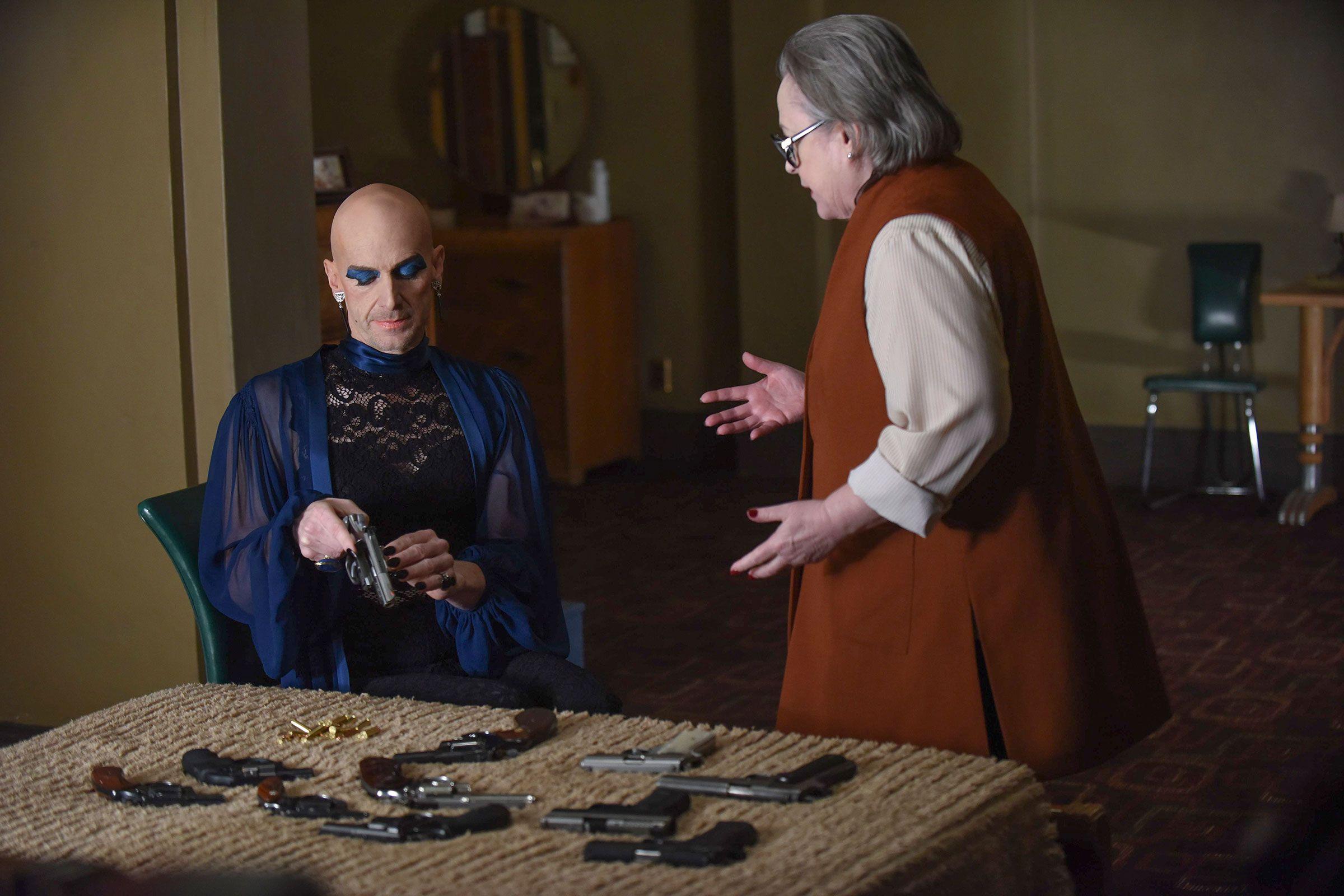 American Horror Story: Hotel Recap: Battle Royale   Collider  Kathy Bates American Horror Story