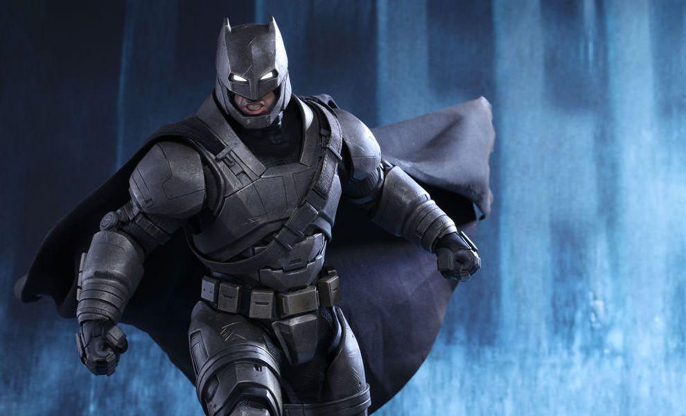 batman vs superman toy armored batman from hot toys
