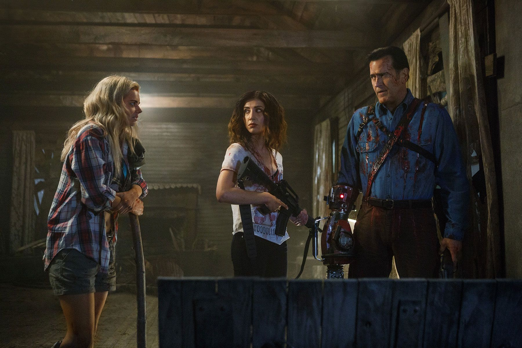 Ash Vs Evil Dead Recap The Dark One Collider - Dark creepy basement