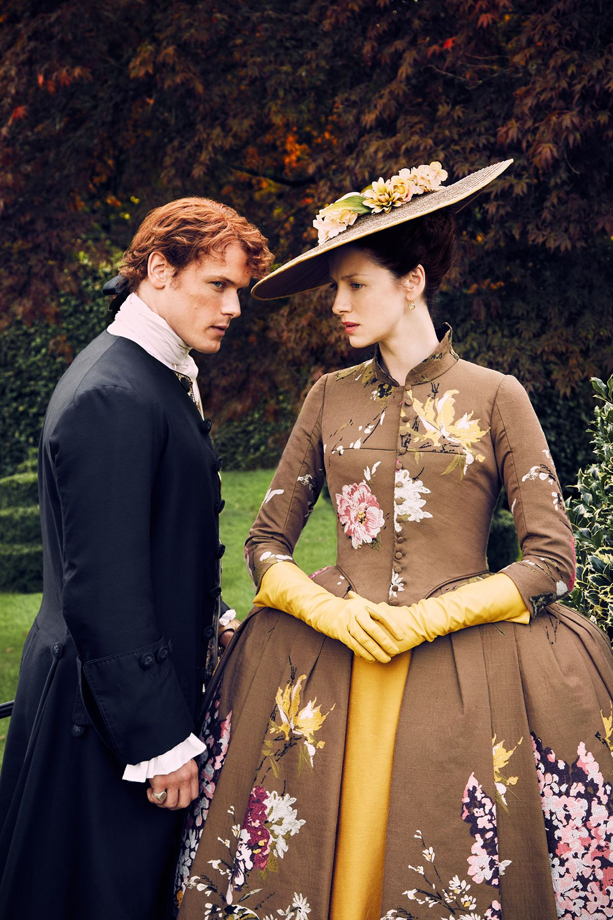 outlander series claire and jamie dating