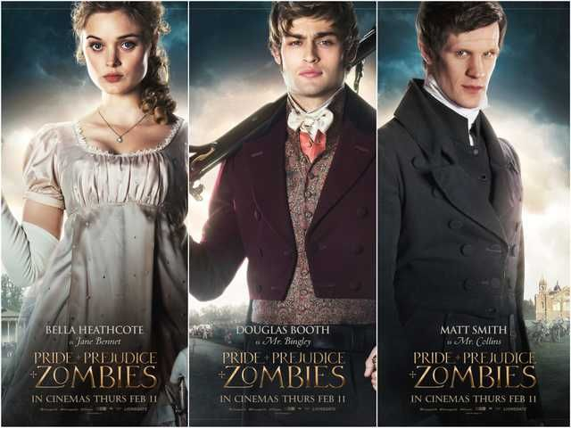 Pride And Prejudice And Zombies Posters Unleashed Collider