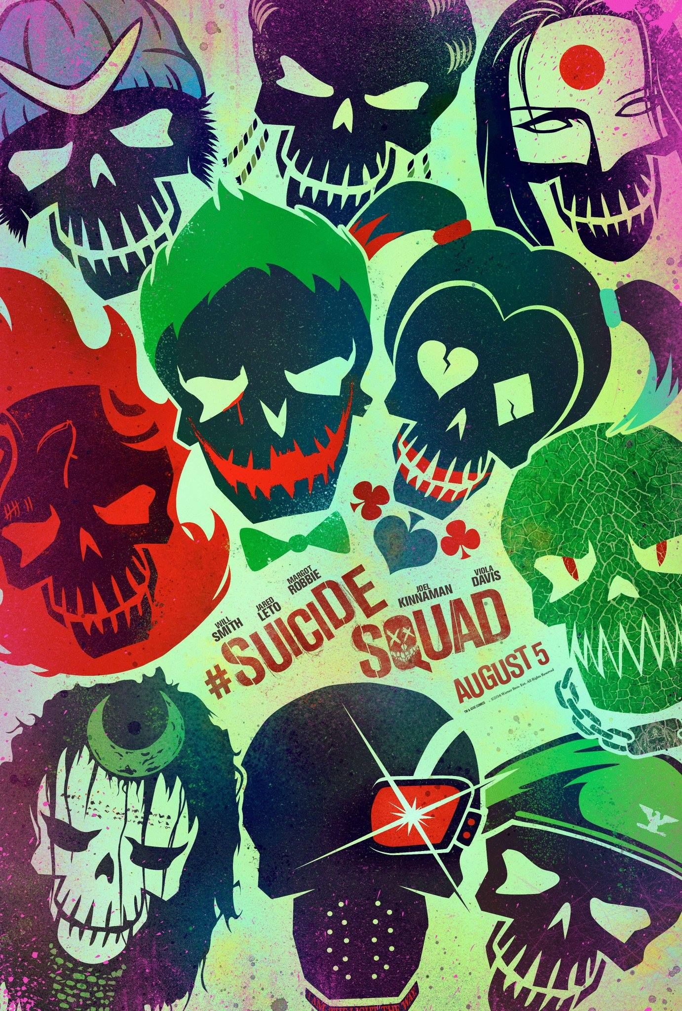 Suicide Squad Movie Posters Reveal Quot Worst Heroes Ever