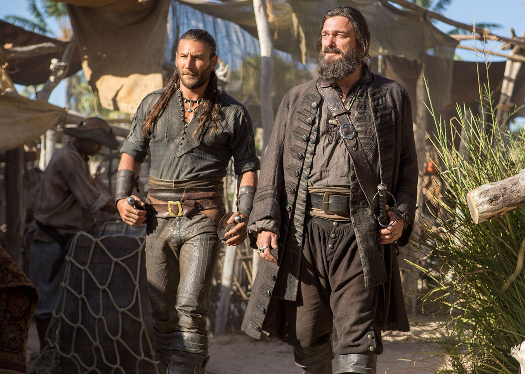 Pirates and Privateers - Review of Starz's Black Sails and ... |Starz Black Sails Cast