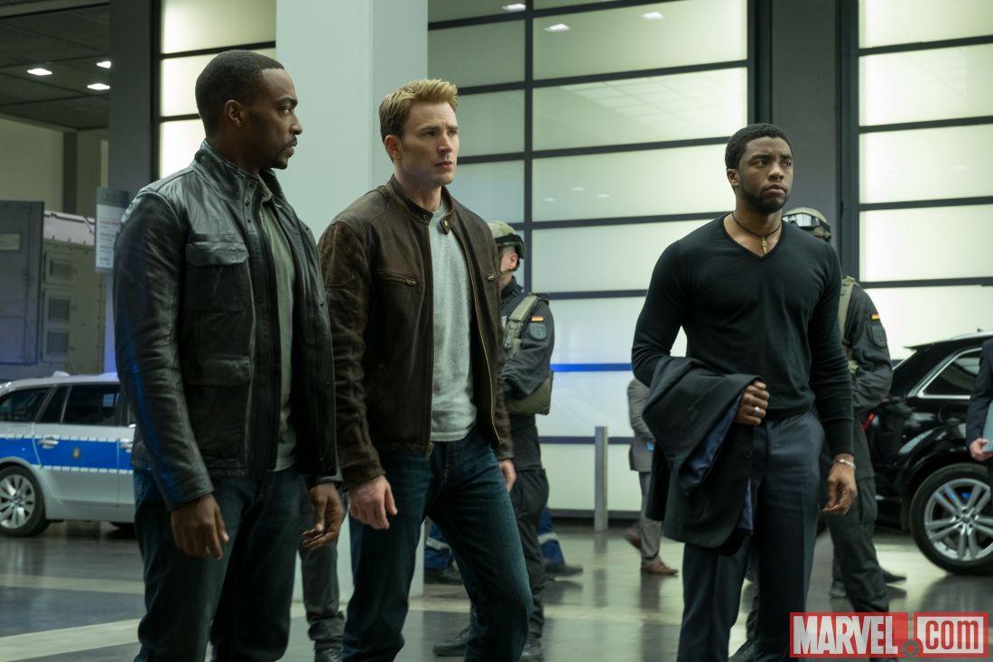 Kid/'s Captain America Civil War Black Panther Chadwick Boseman Jacket