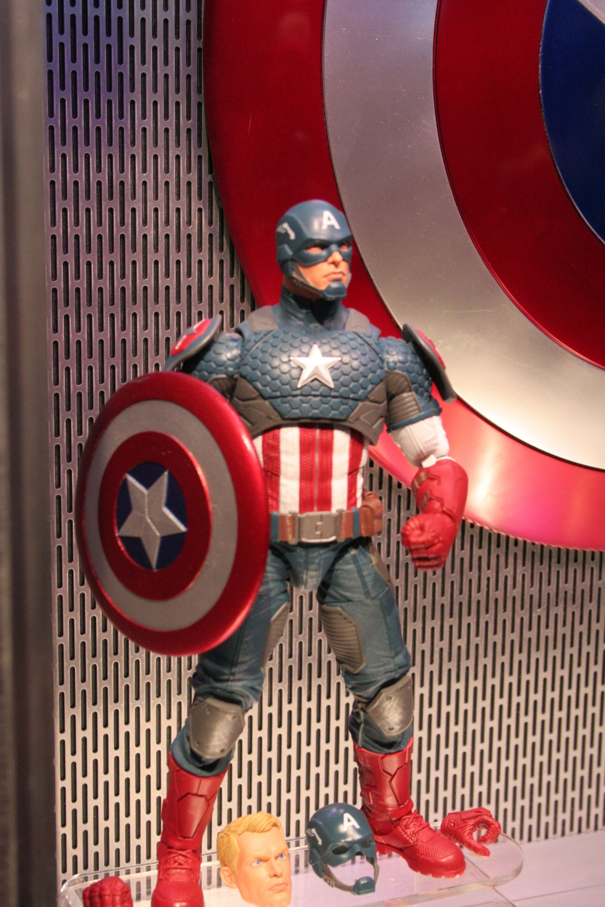 Captain America Civil War Hasbro Images From Toy Fair 2016 Collider