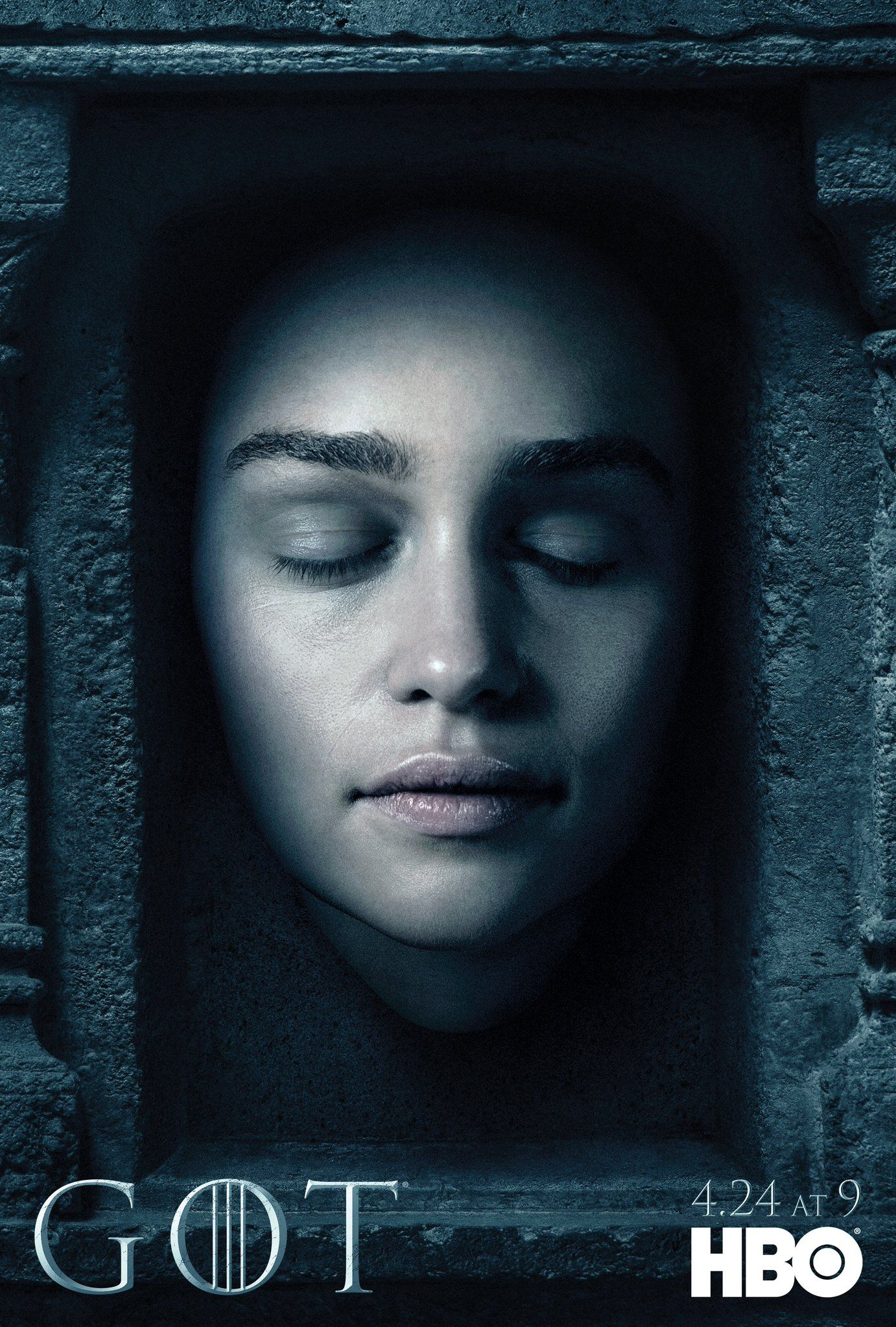 game of thrones emilia clarke teases season 6 action. Black Bedroom Furniture Sets. Home Design Ideas