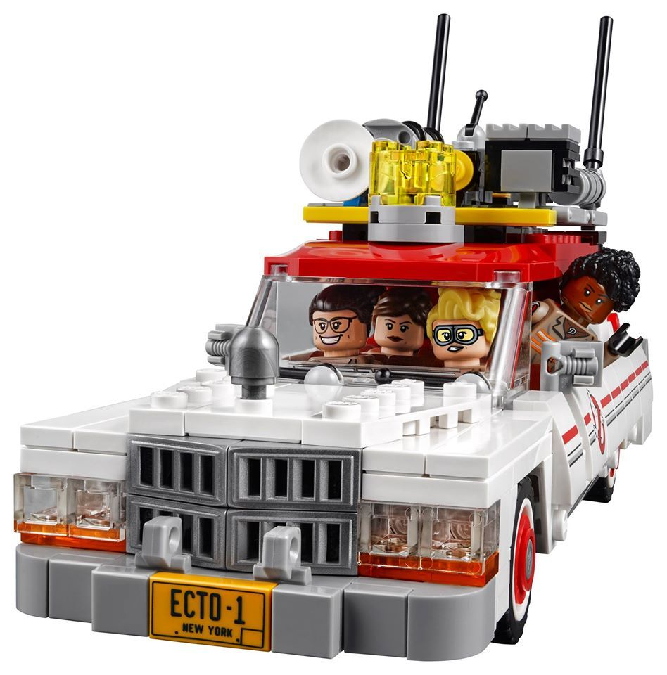 lego ghostbusters reboot images feature new ecto 1 2 collider