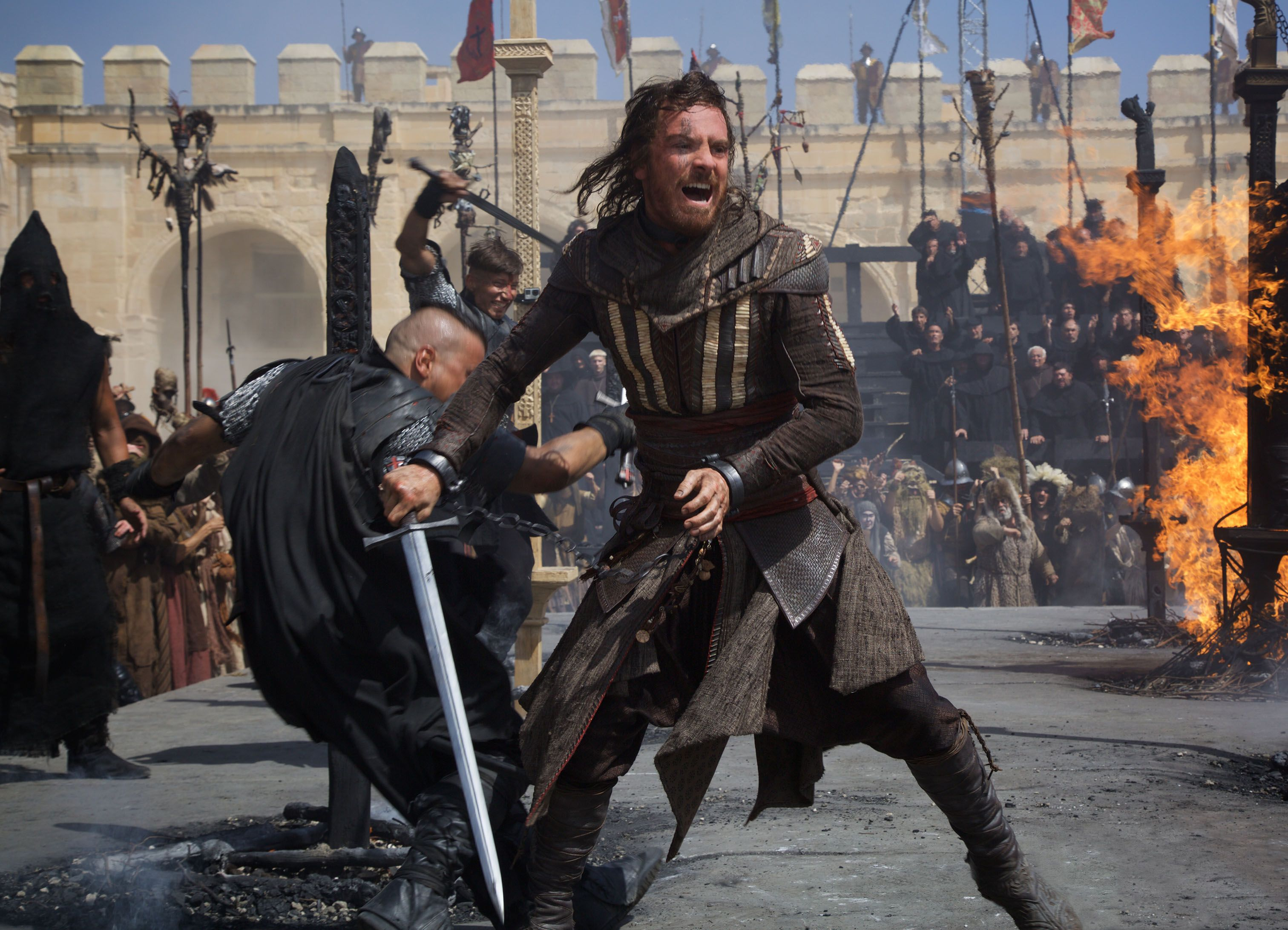 Assassin S Creed Movie Is Like The Matrix Says Fassbender Collider